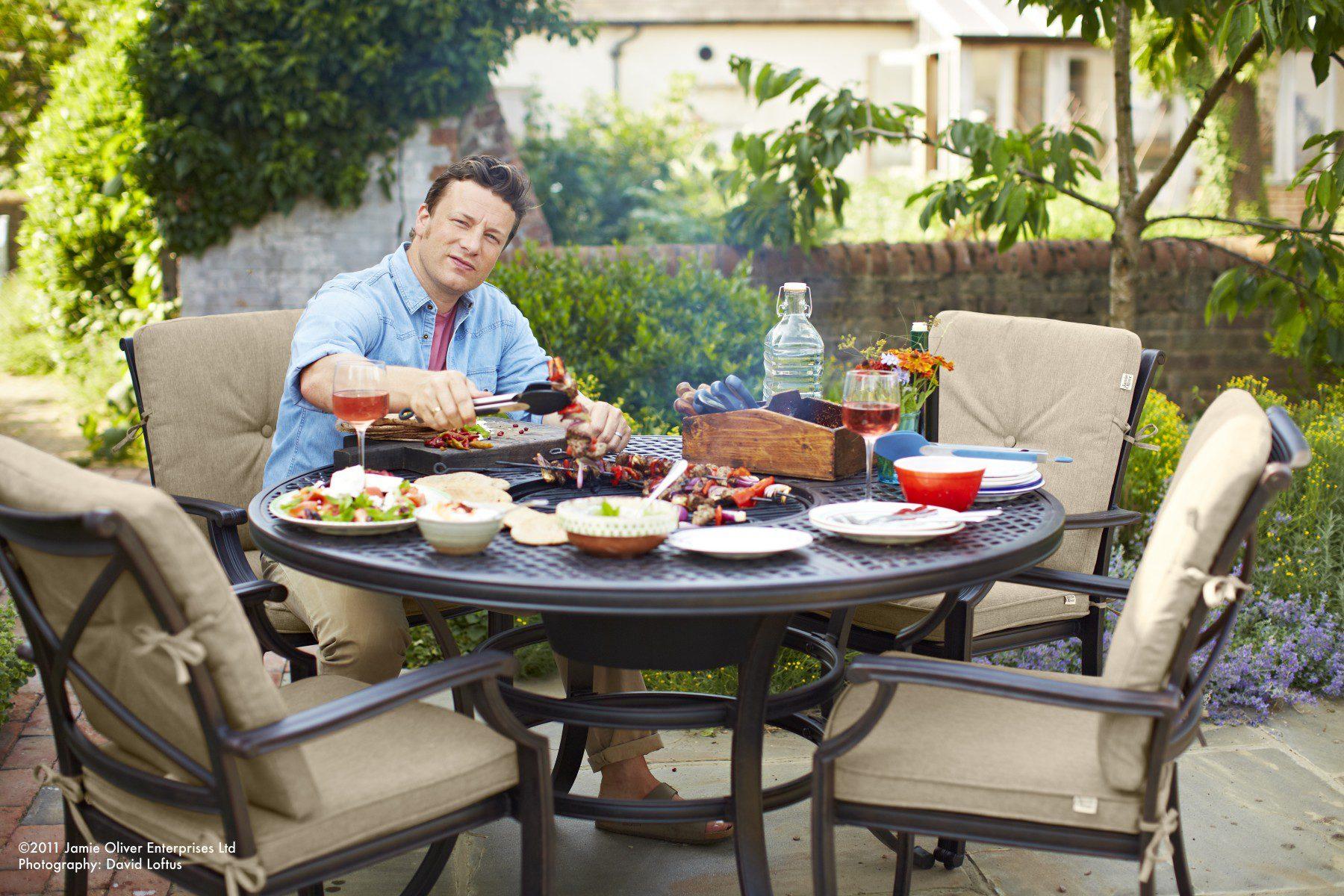 Jamie Oliver 4 Seat Grilling Set