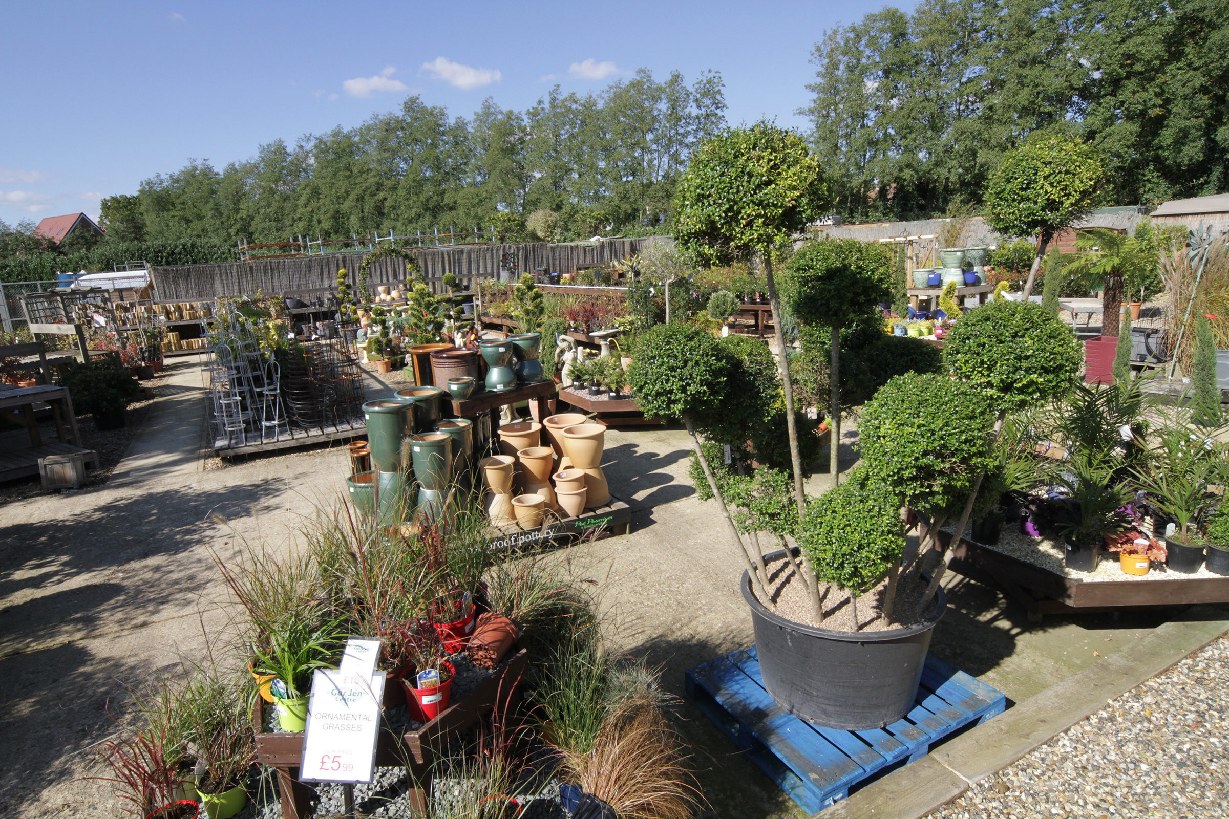 Norwich Camping & Leisure Village - Garden Centre