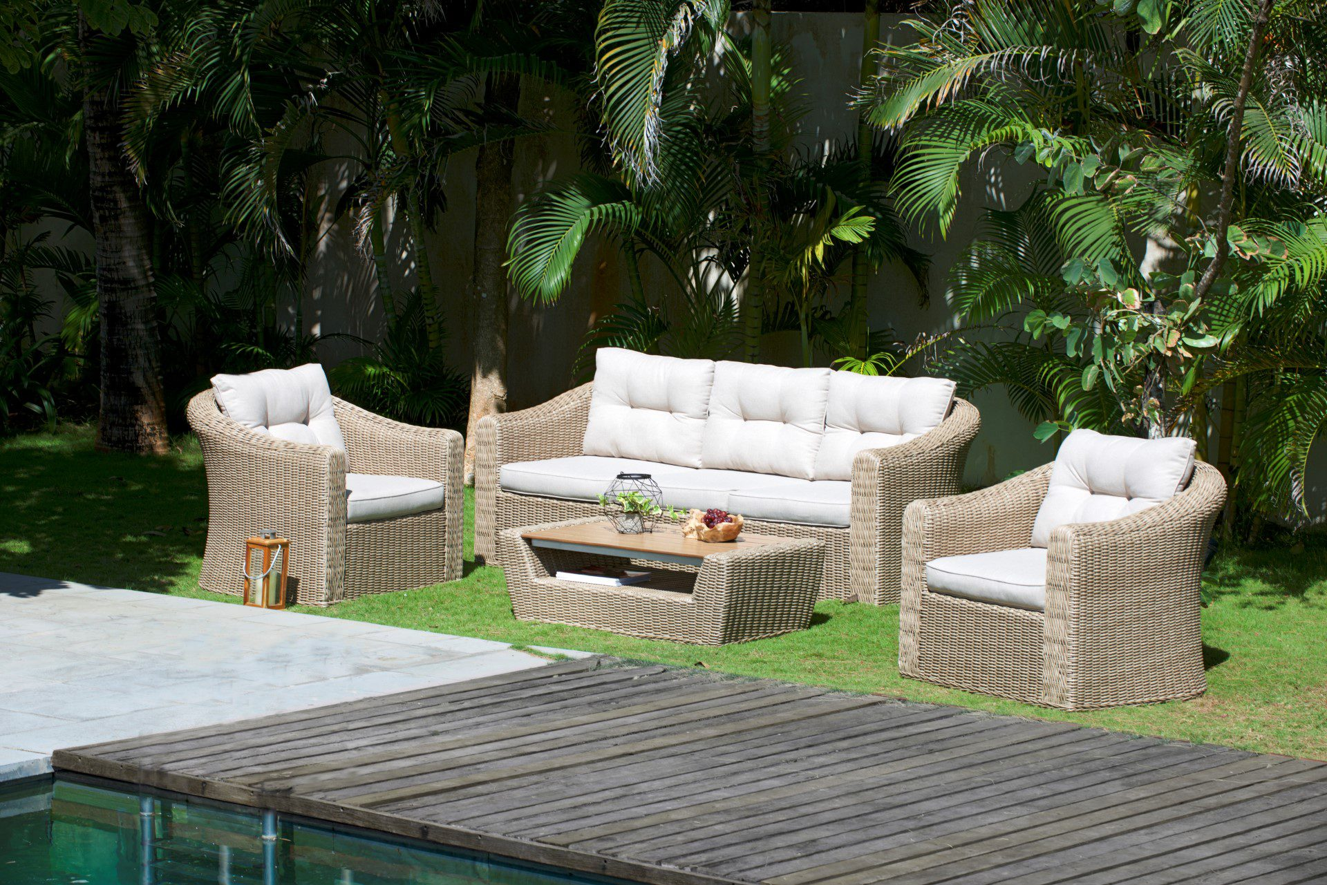 Lifestyle Garden Furniture Martinique Coffee Table