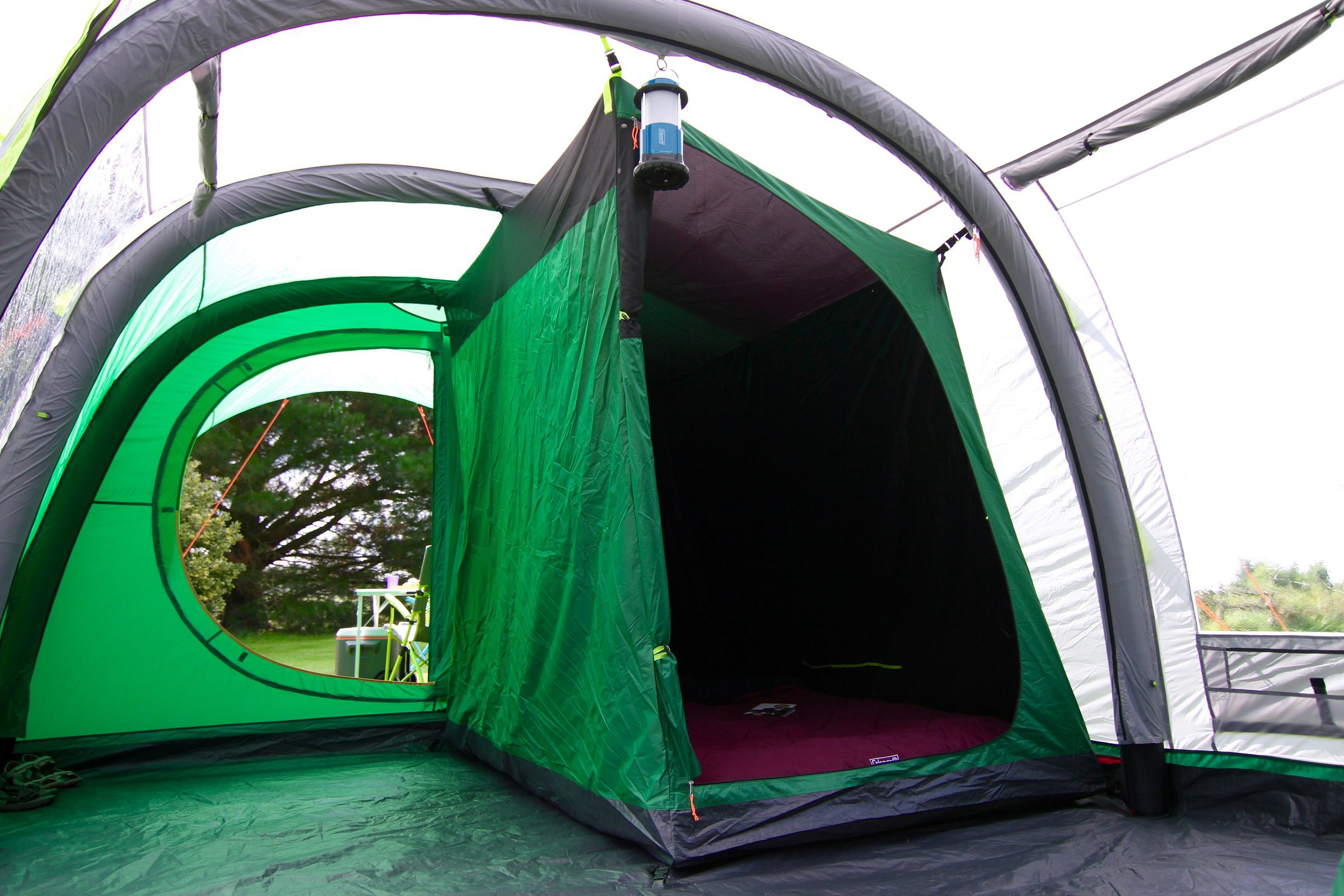 Coleman Fastpitch Air Valdes 6l Air Tent 2018 6 Person