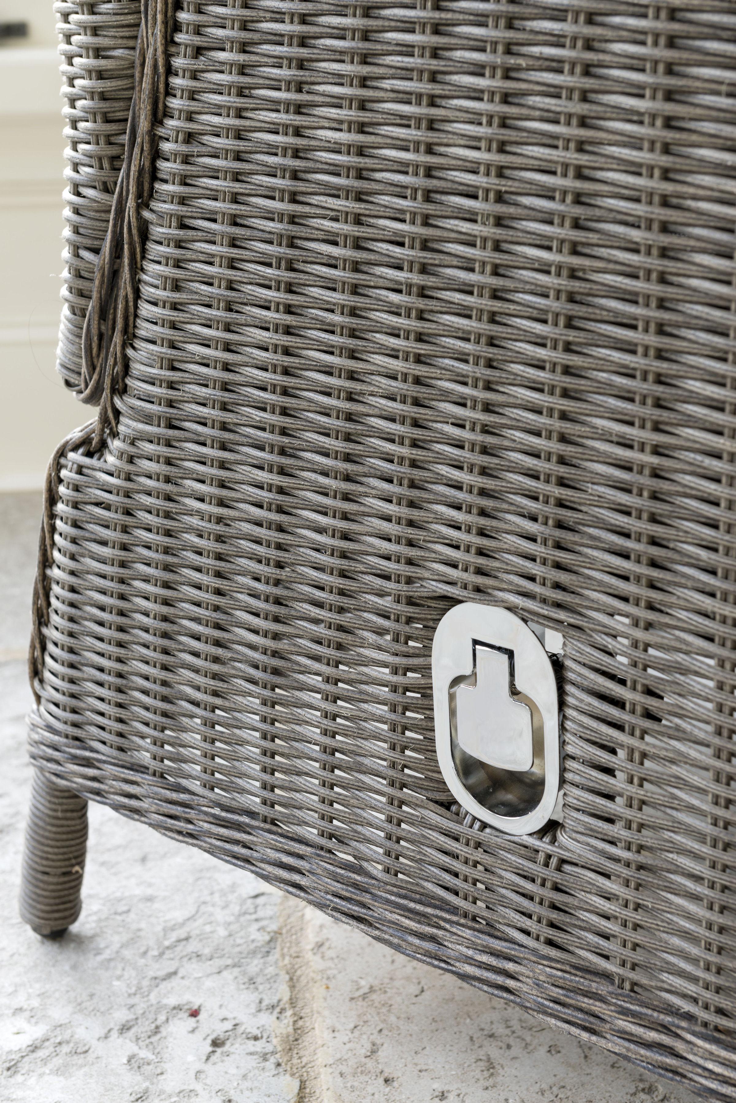 Kettler Classic Recliner Set White Wash