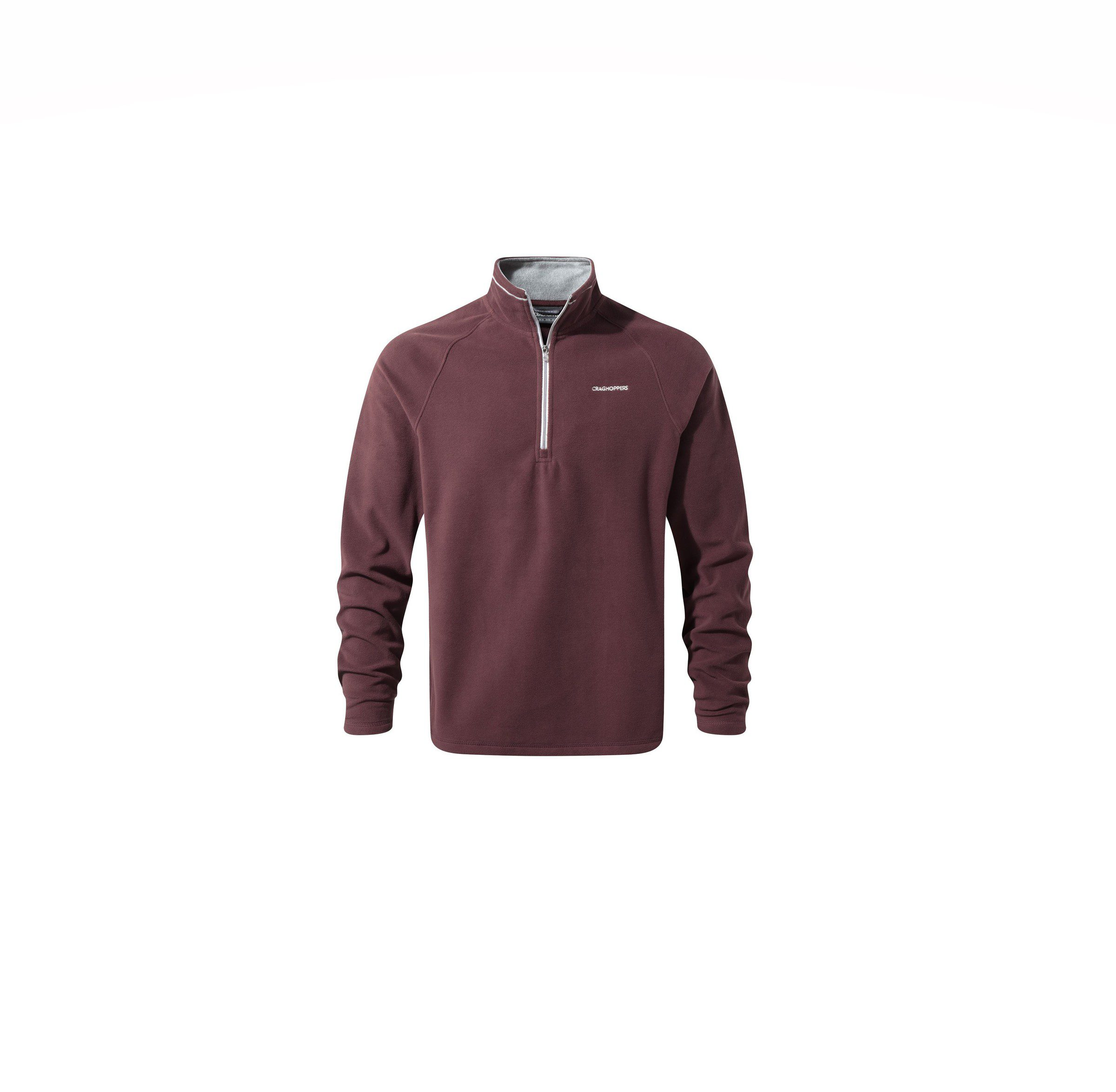 Craghoppers Selby Half Zip Fleece - Red Wine