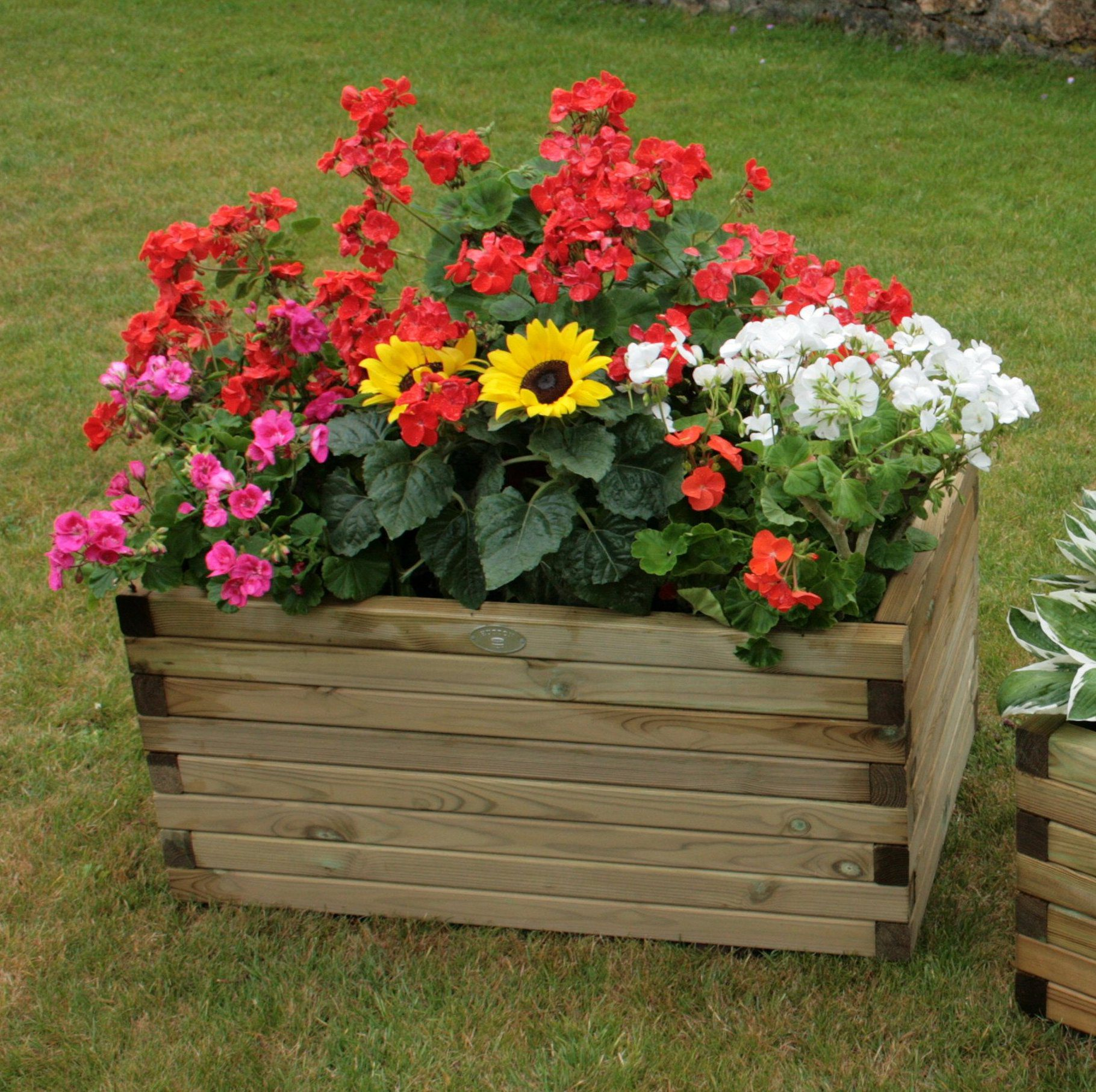 Hutton Small Rectangular Planter