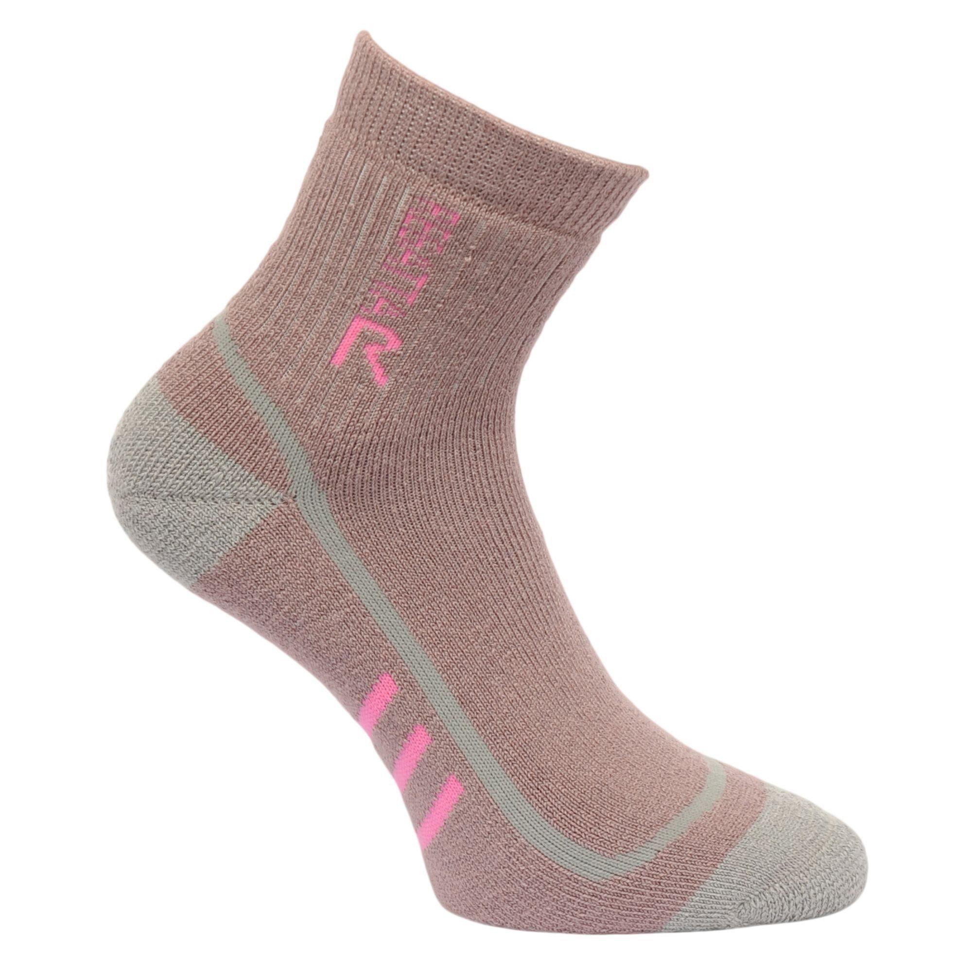 Regatta Womens Trek and Trail sock - Raspberry