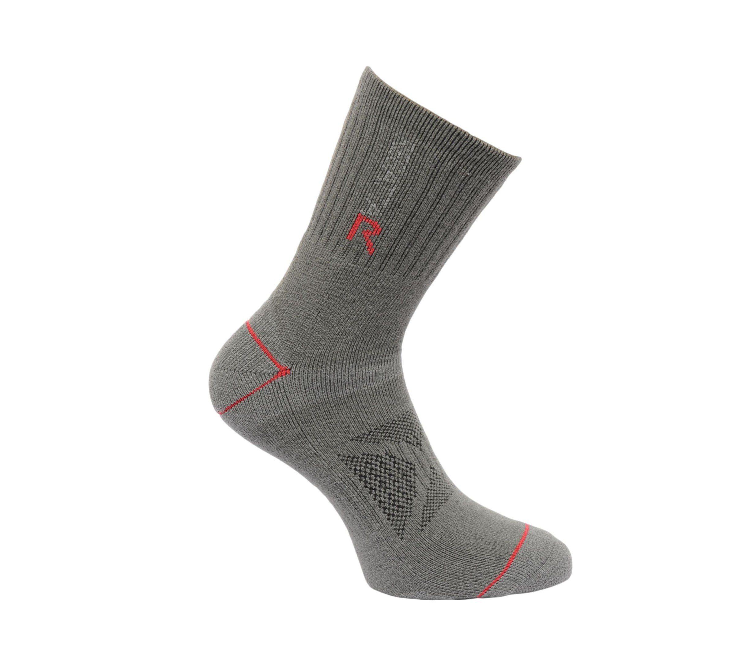 Regatta Mens blister sock - granite