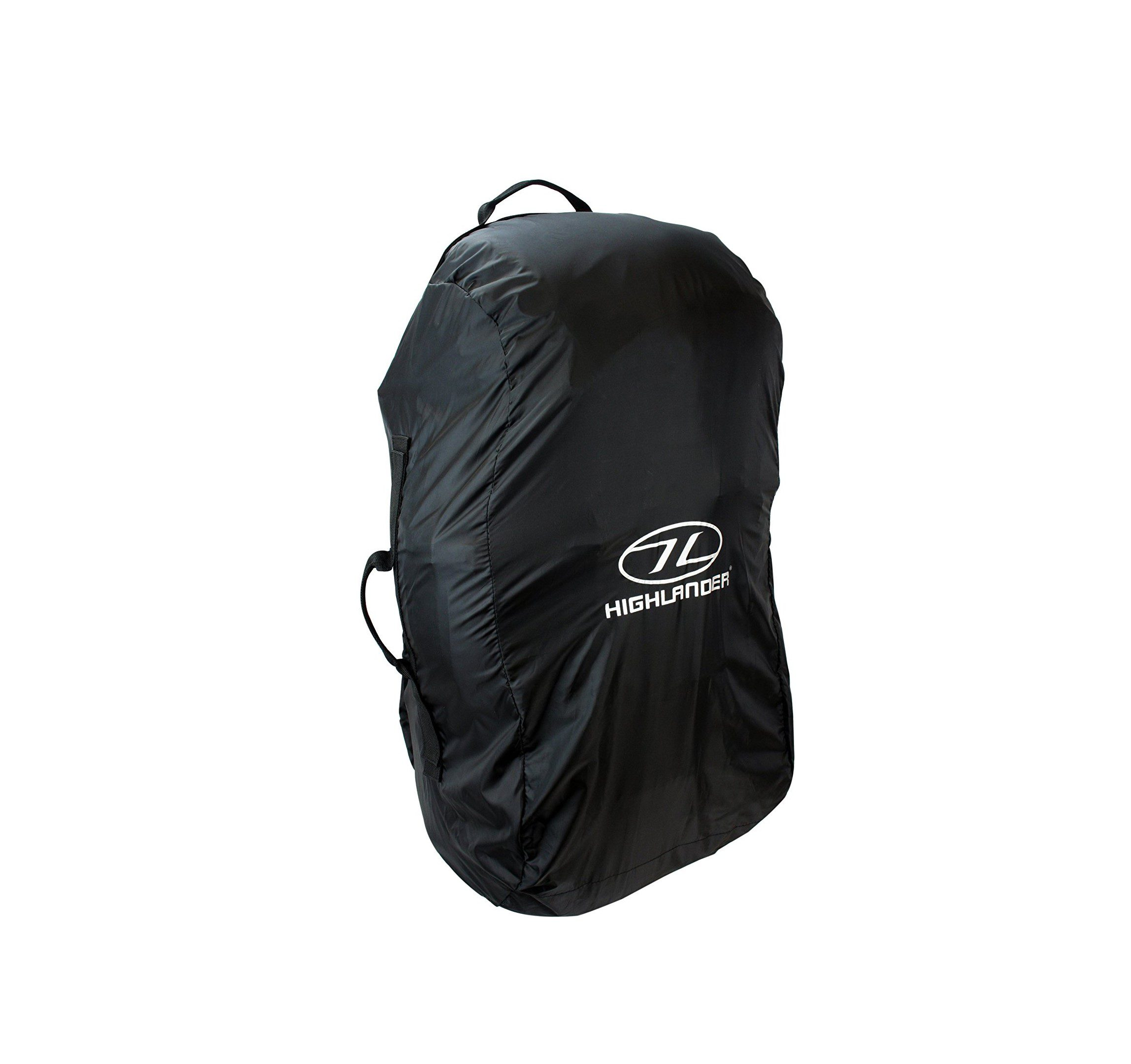 Highlander Medium Rucksack Cover - Black