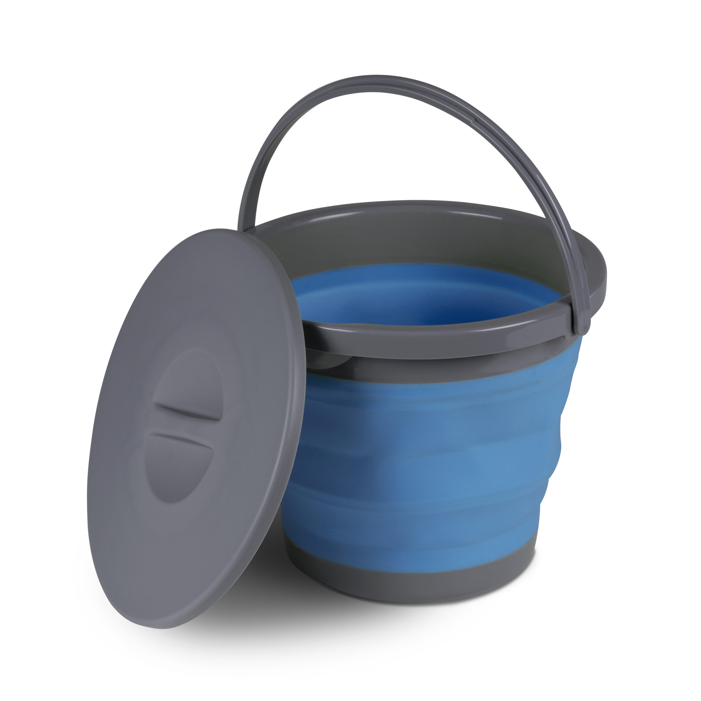 kampa 5 litre collapsible bucket with lid cw0104