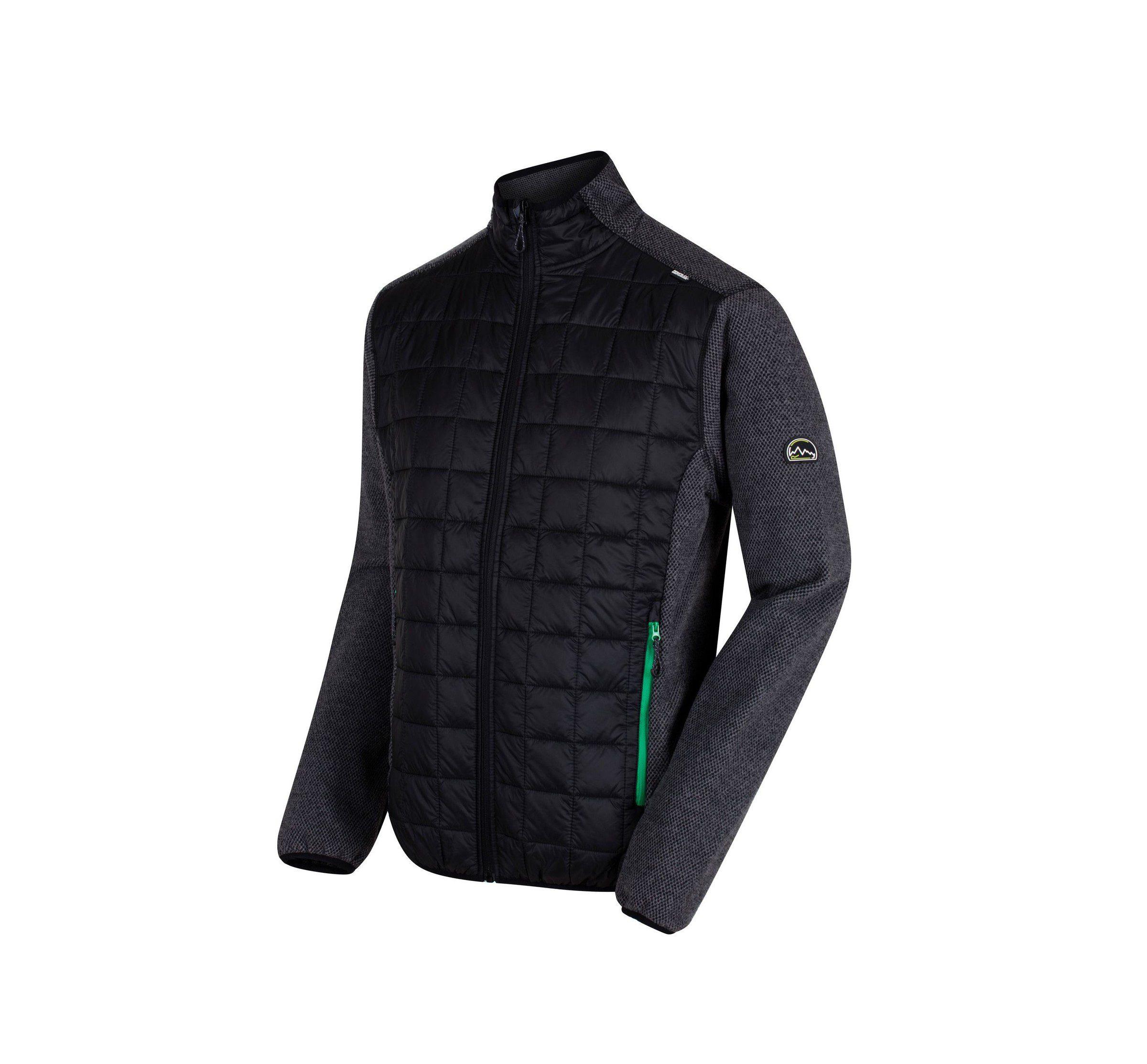 Regatta Men's Chilton II Hybrid Jacket - Lead Grey / Black