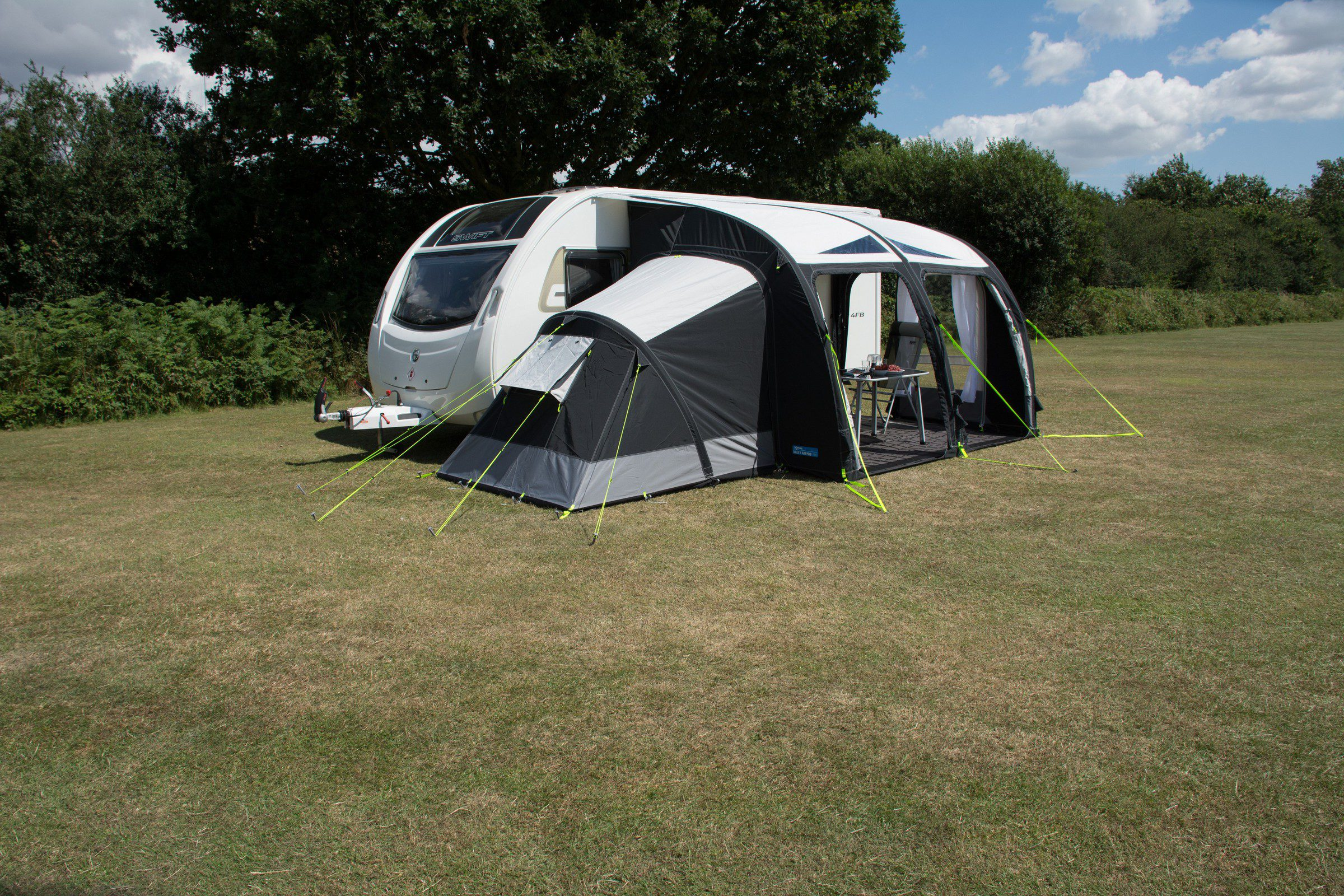 Kampa Air Pro And Air Ace Inflatable Annexe Norwich Camping