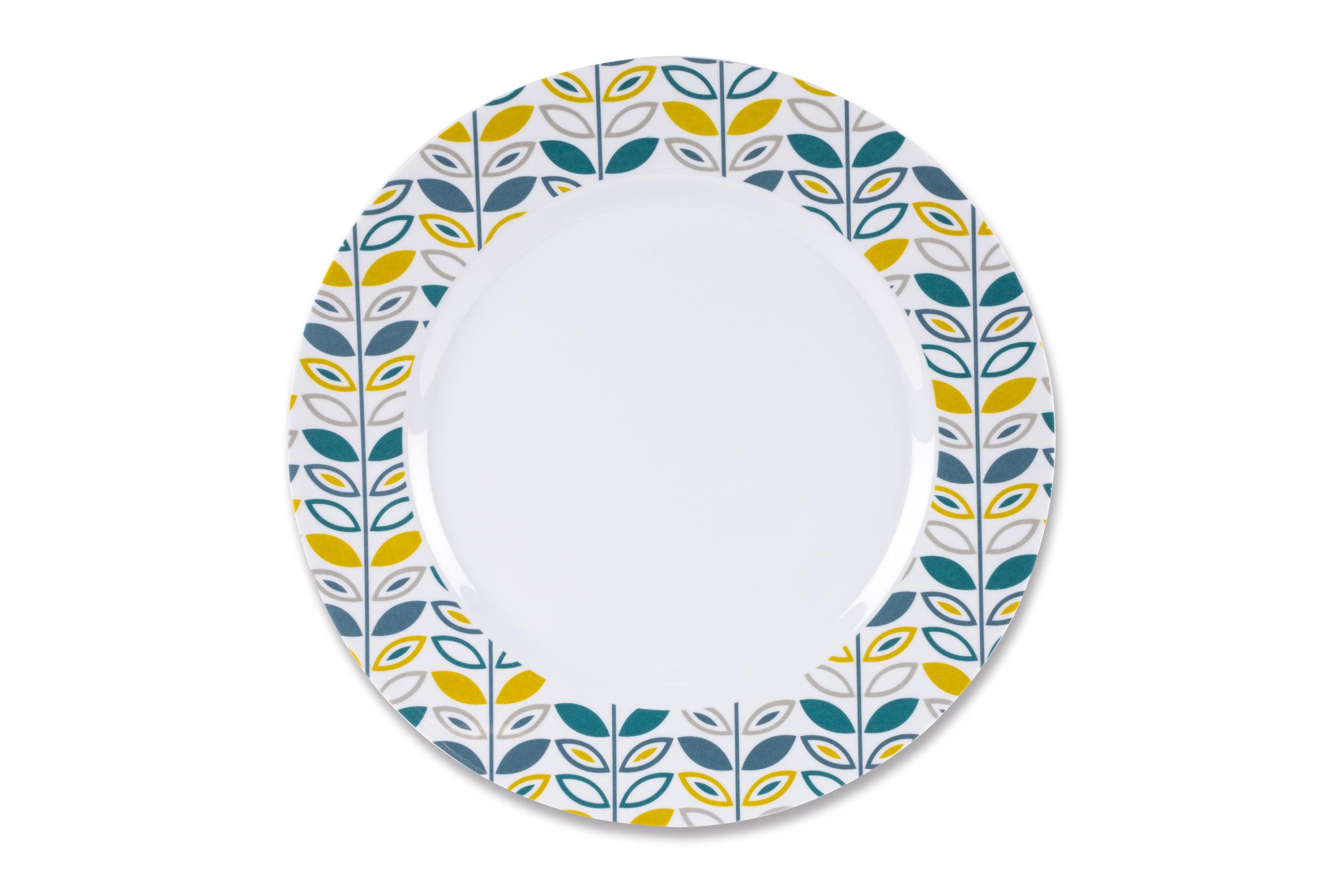 Kampa Flora Heritage Dinner Plate