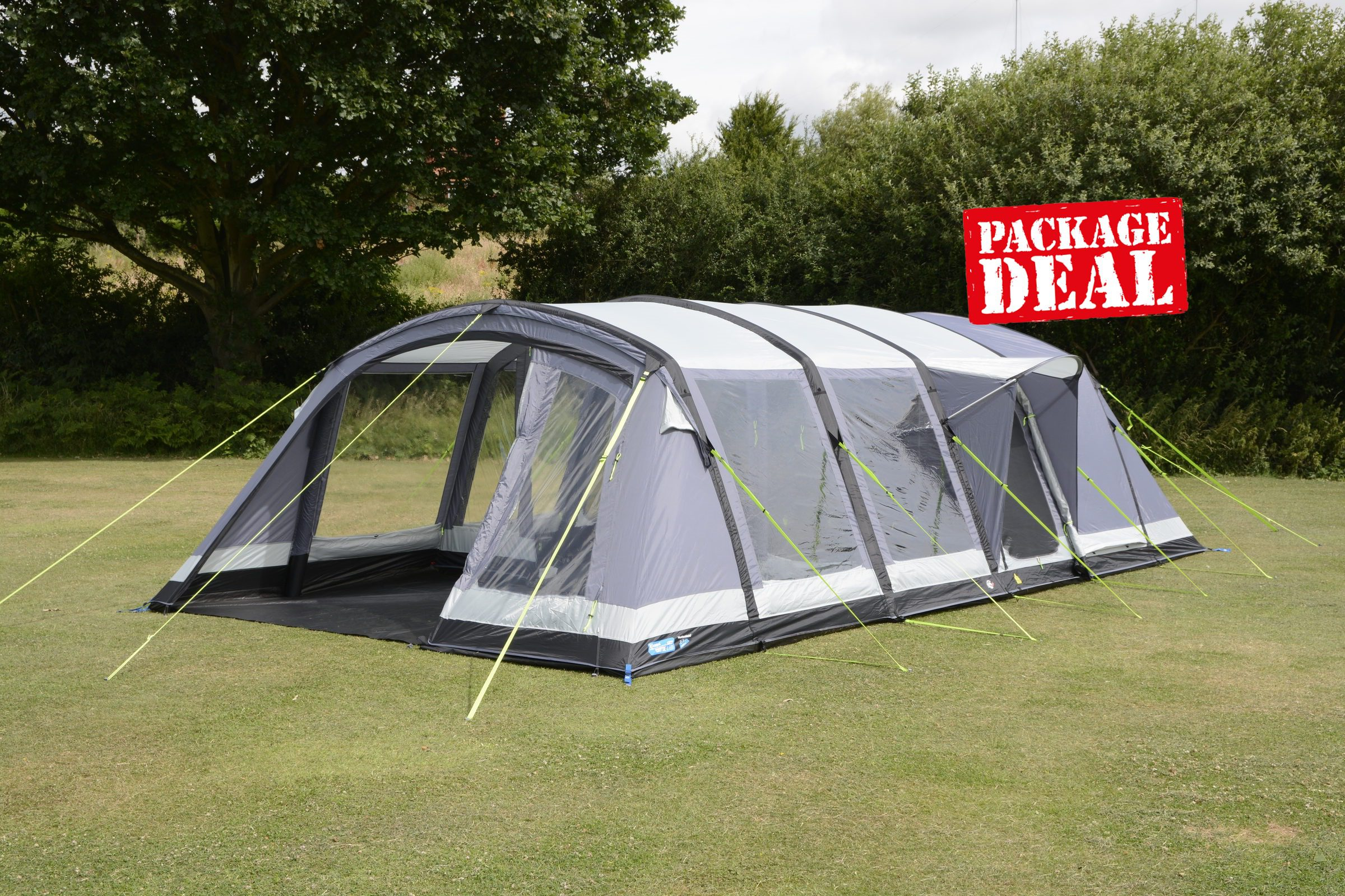K&a Croyde 6 Air Pro Tent Package Deal & Kampa Croyde 6 Air Pro Tent Package Deal 2018 | Inflatable Tents ...