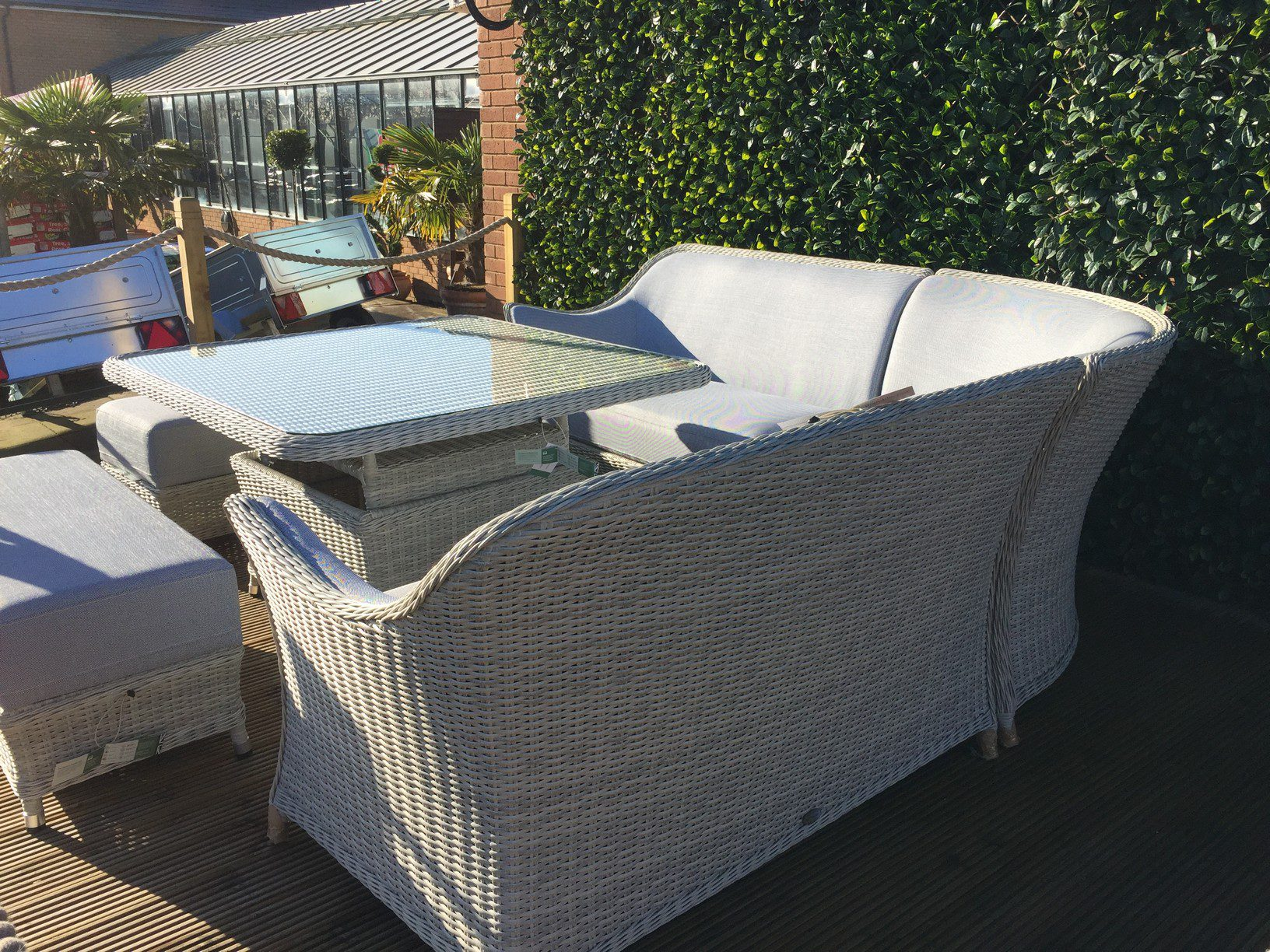 Bramblecrest Gainsborough Modular Sofa Set with Square Adjustable