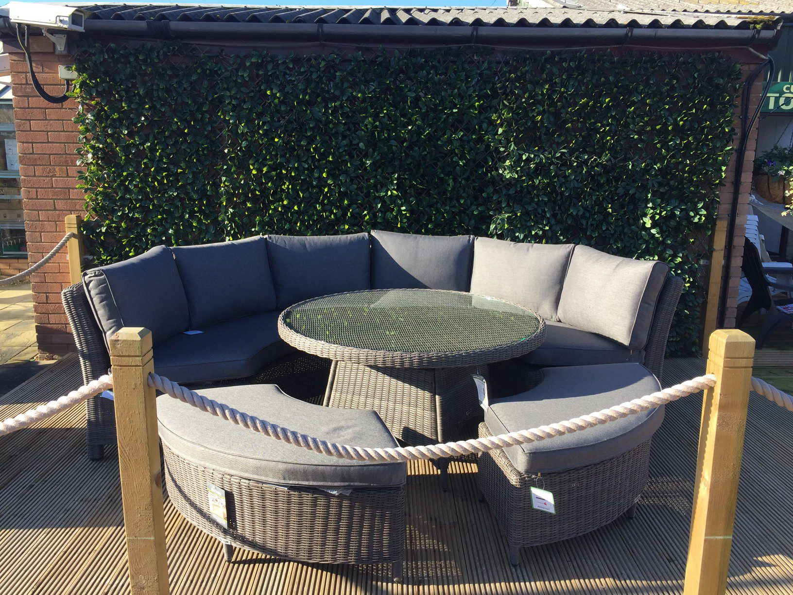 Kettler Palma Round Set In Rattan New For 2018 1