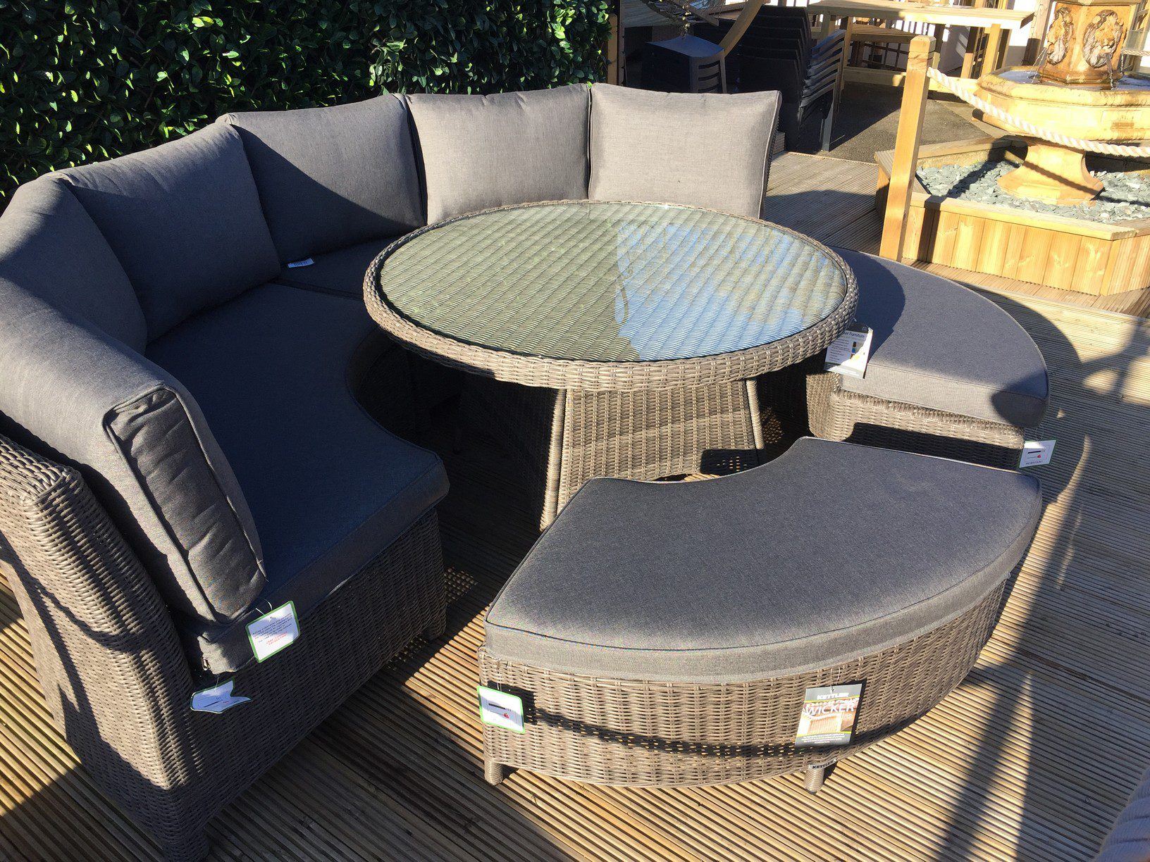 Kettler Palma Round Set In Rattan New For 2018 4