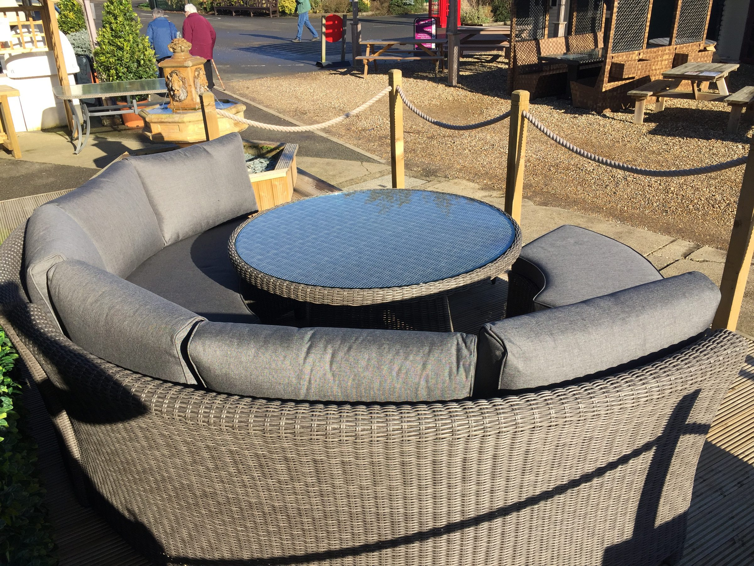 Kettler Palma Round Set In Rattan New For 2018 2