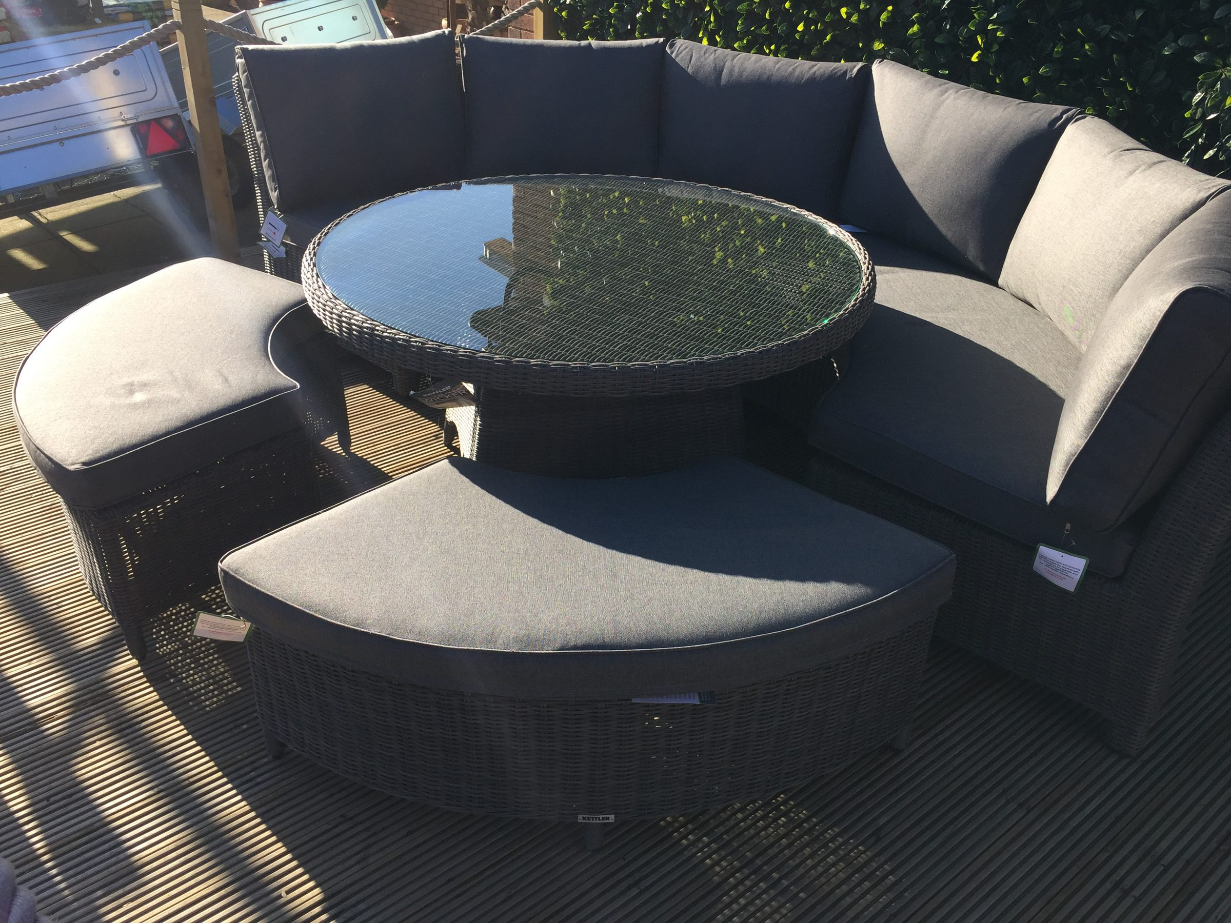Kettler Palma Round Set In Rattan New For 2018 3