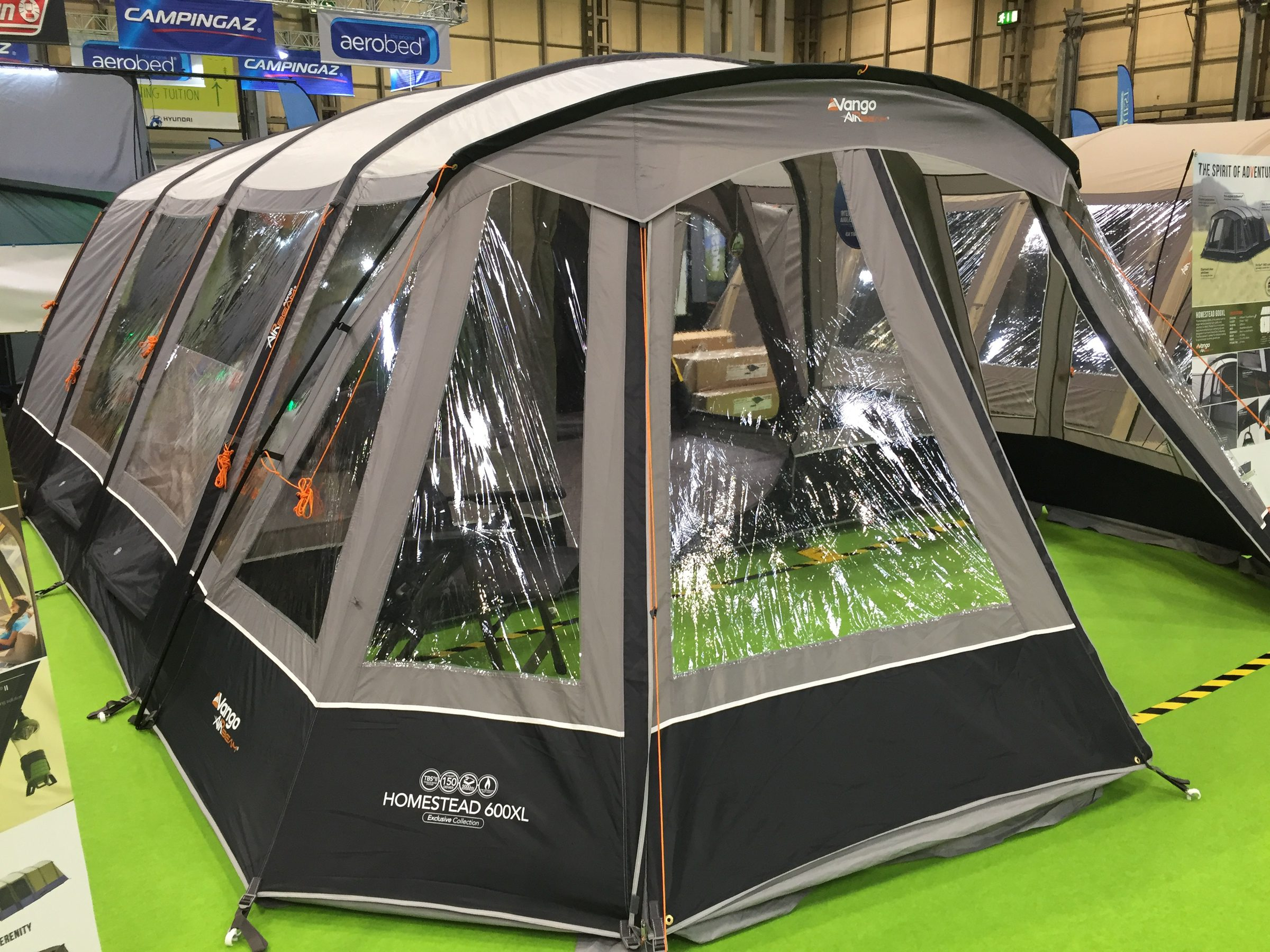 Vango Homestead 600Xl Airbeam Tent 2018 1