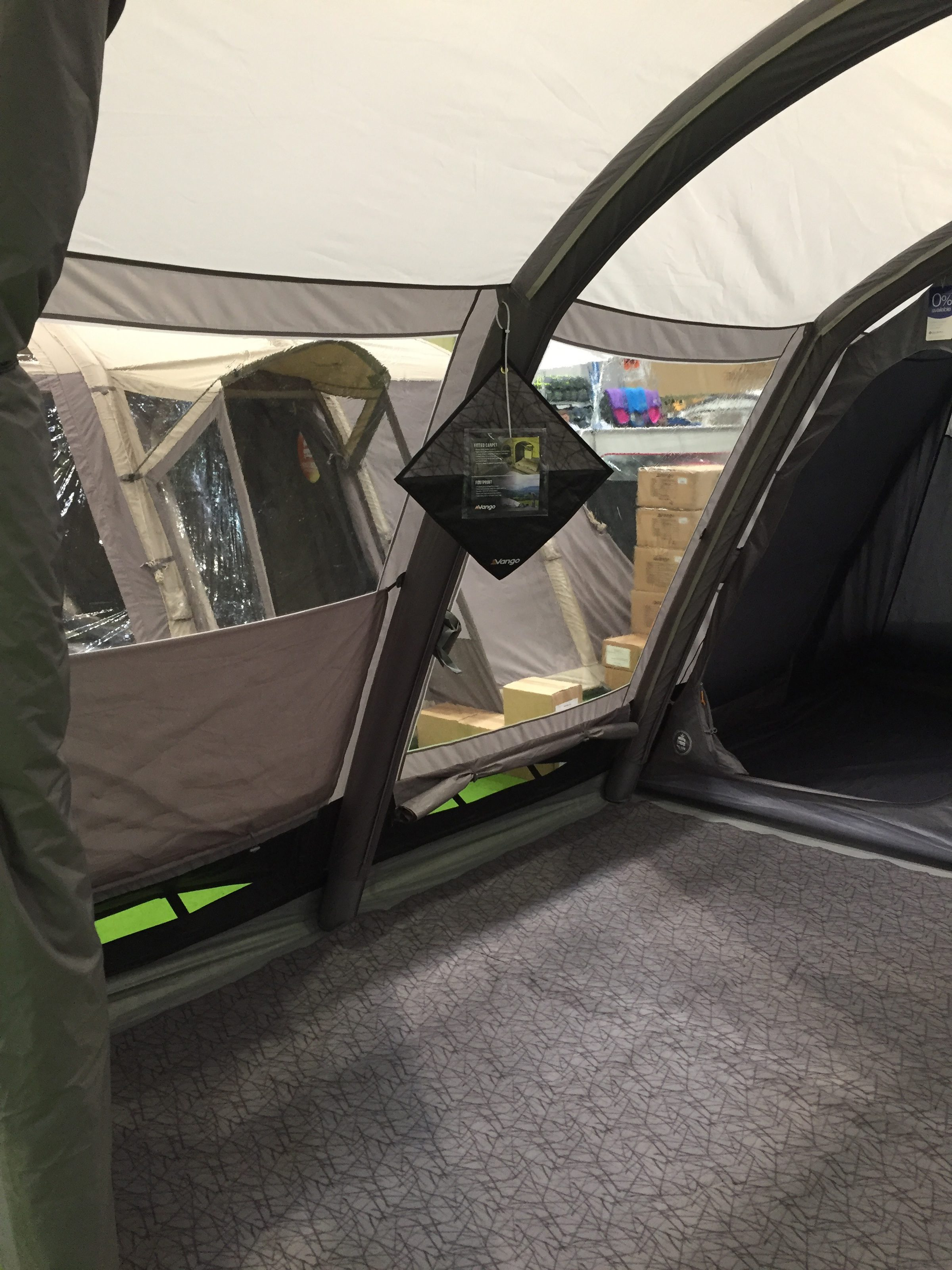 Vango Homestead 600Xl Airbeam Tent 2018 4