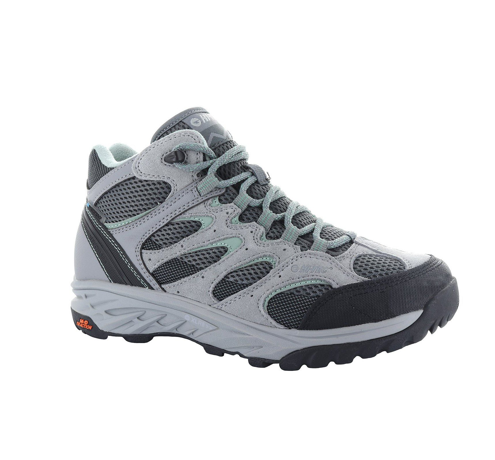 Hi-Tec Wild-fire low women's - grey - graphite - iceberg green