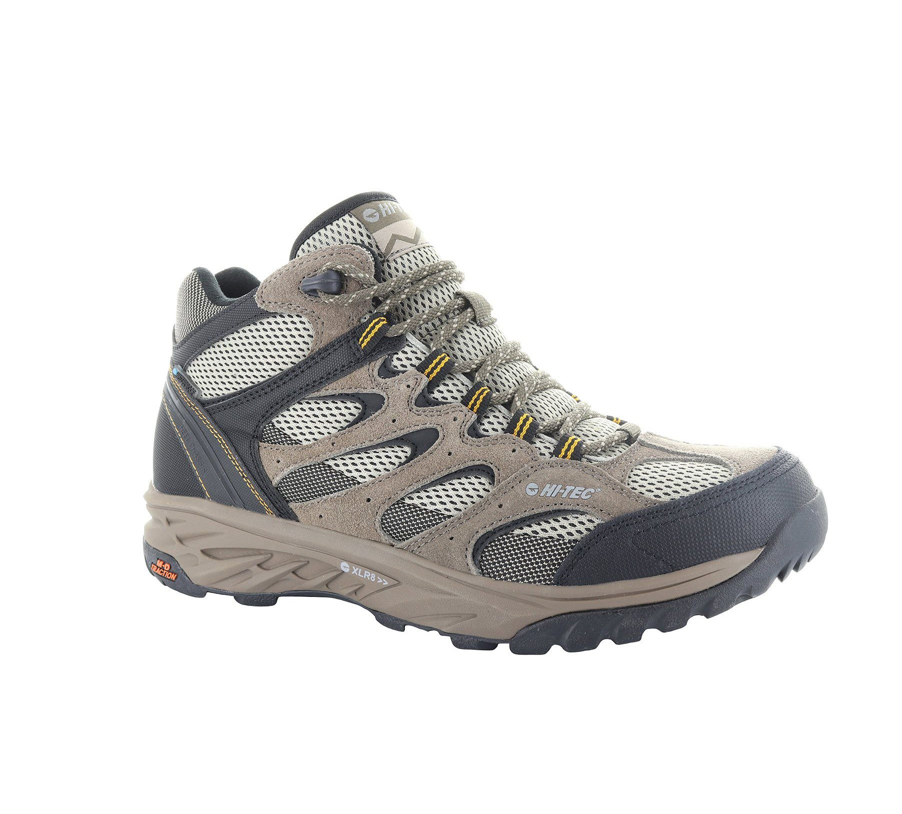 Hi-Tec Men's Wild-Fire Mid boots - Taupe / Dune / Core Gold