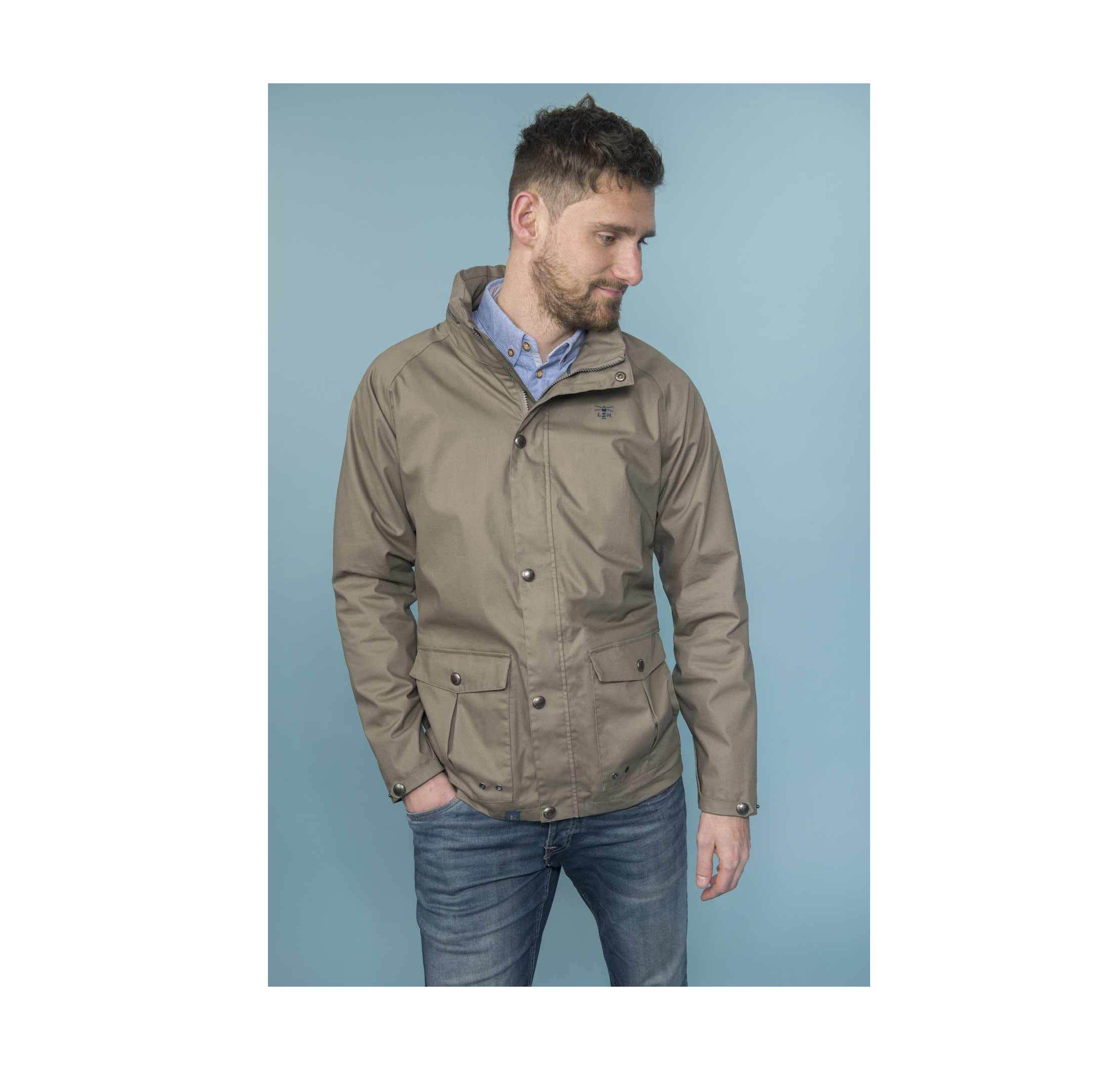 Lighthouse Men's Benone Jacket - Driftwood