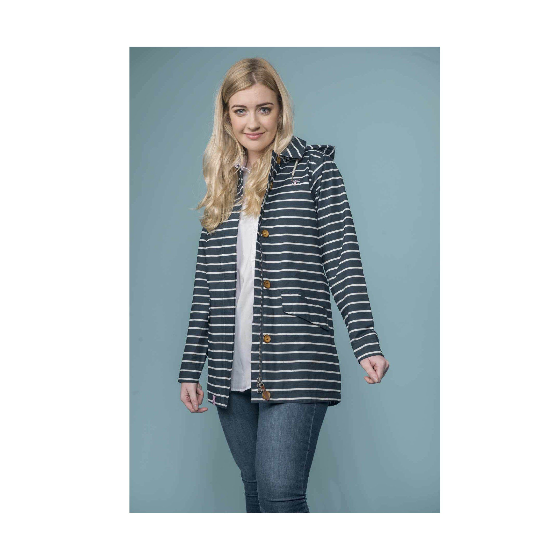 Lighthouse Women's Abby Jacket - Midnight Stripe