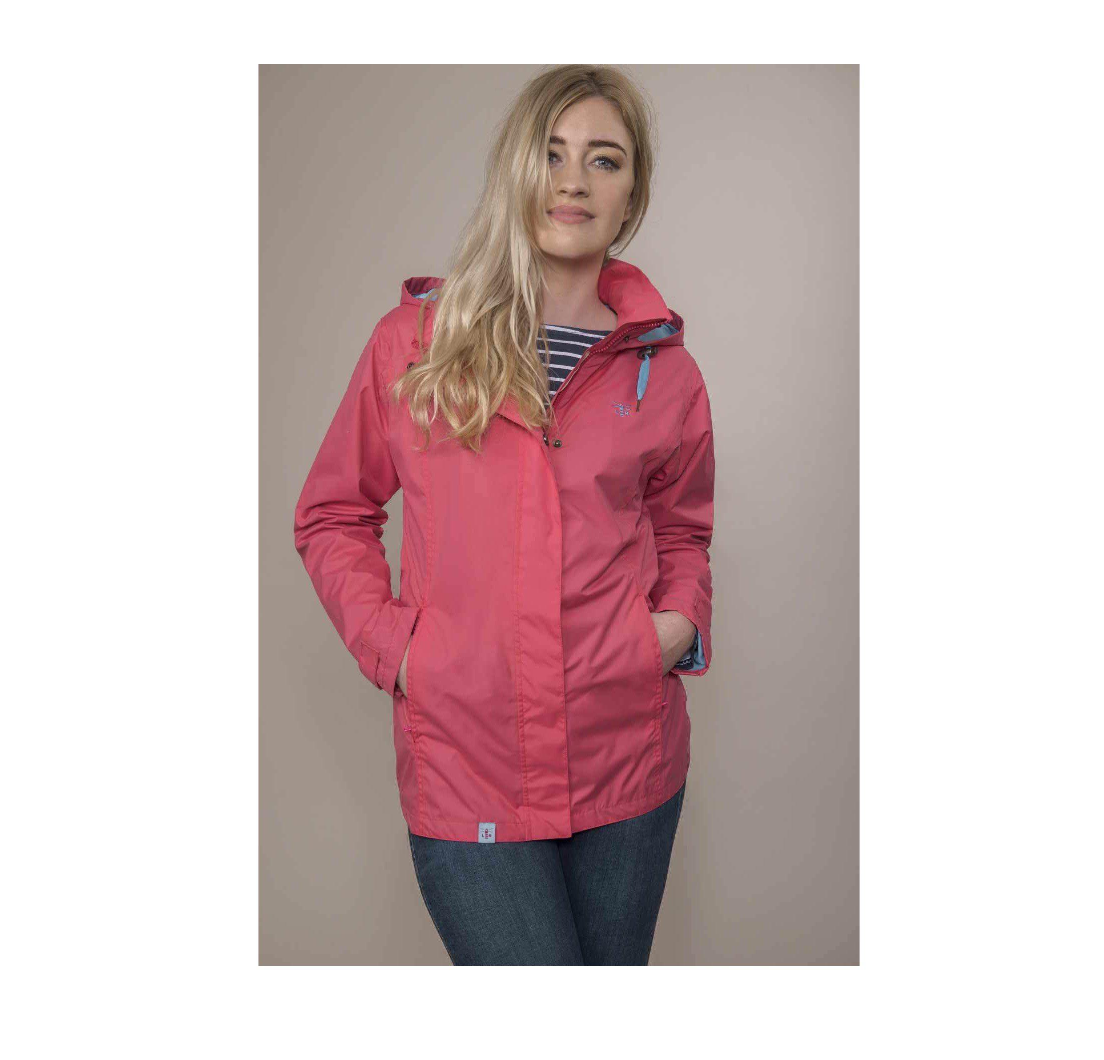 Lighthouse Women's Beachcomber Jacket - Scarlet