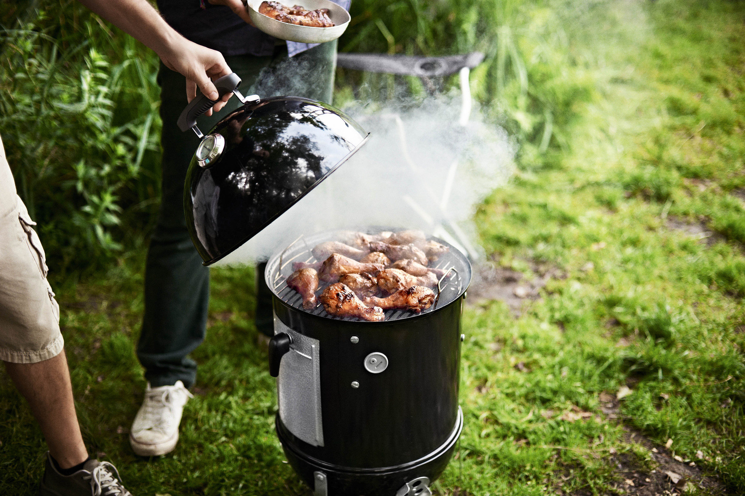 Weber 37cm Smokey Mountain Cooker