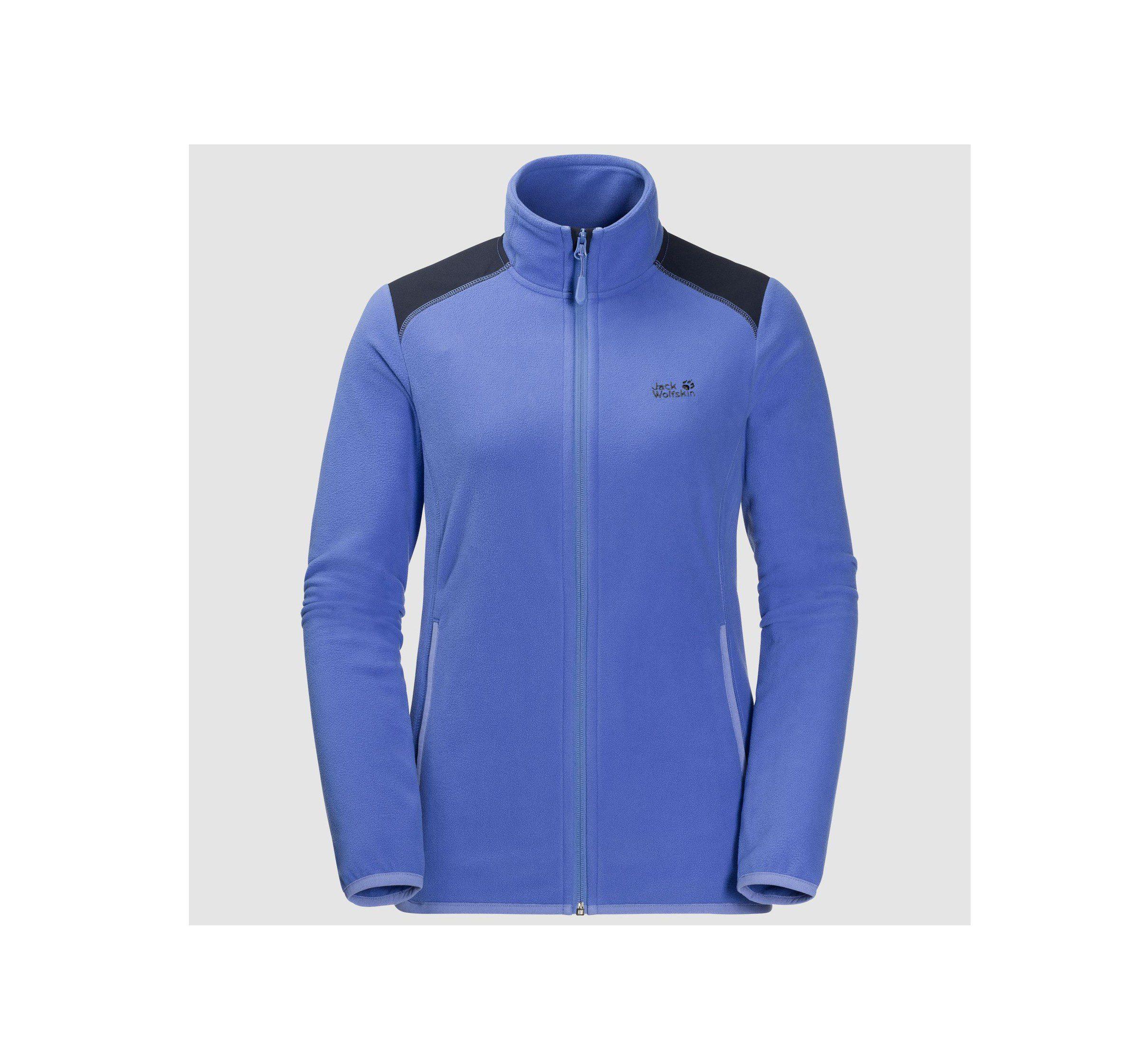 Jack wolfskin womens perfomrance flex jacket - baja blue