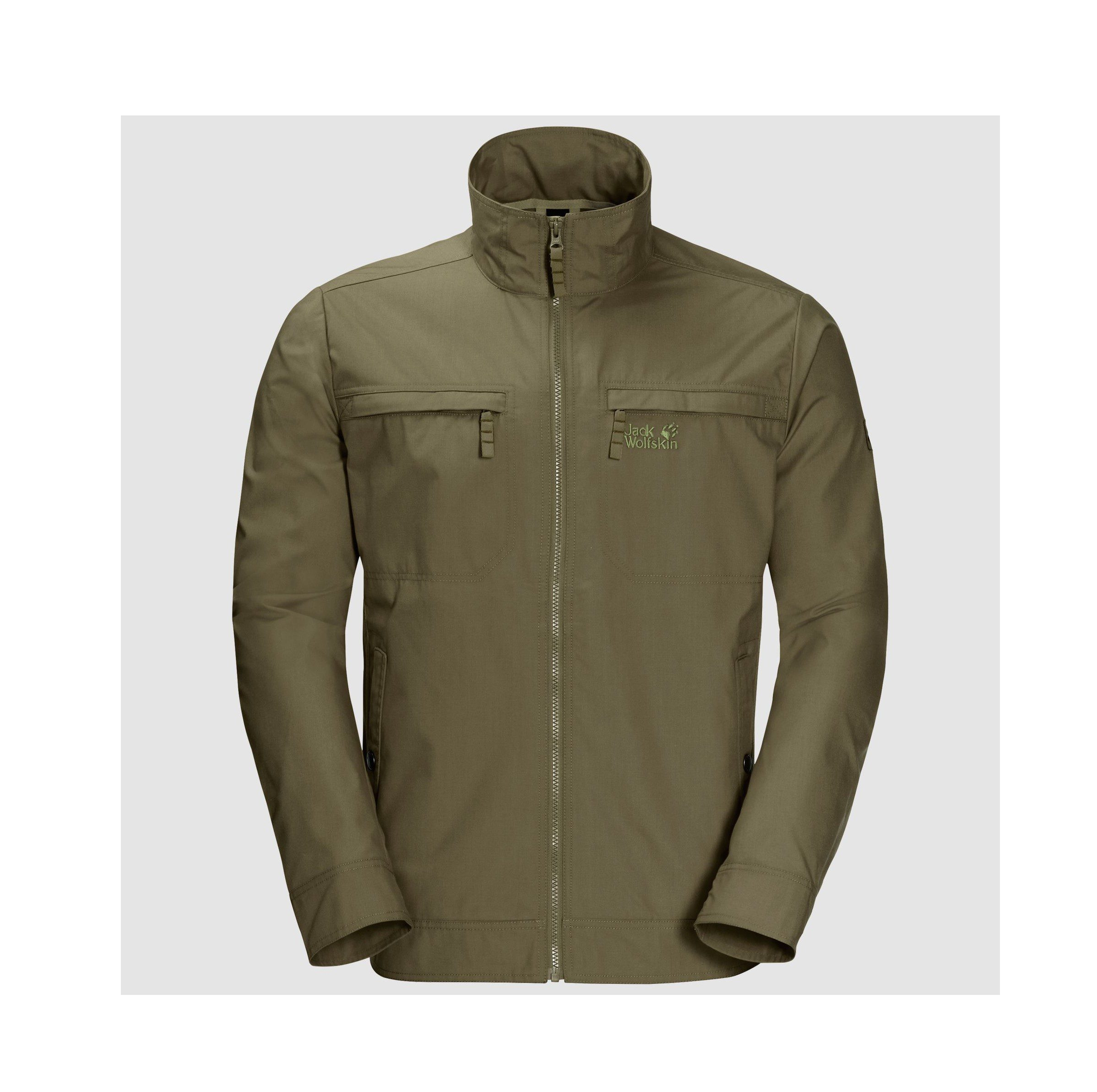 Jack Wolfskin Mens Camio Road Jacket - Burnt Olive