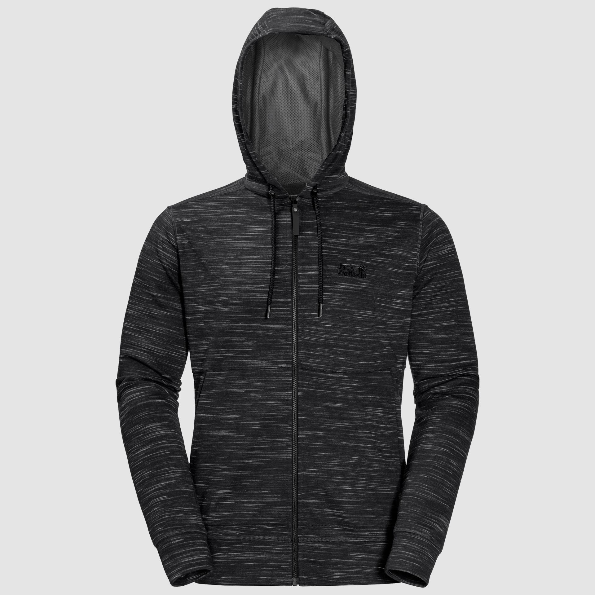 1706201 6000 7 Oceanside Hooded Jacket Men Black 1