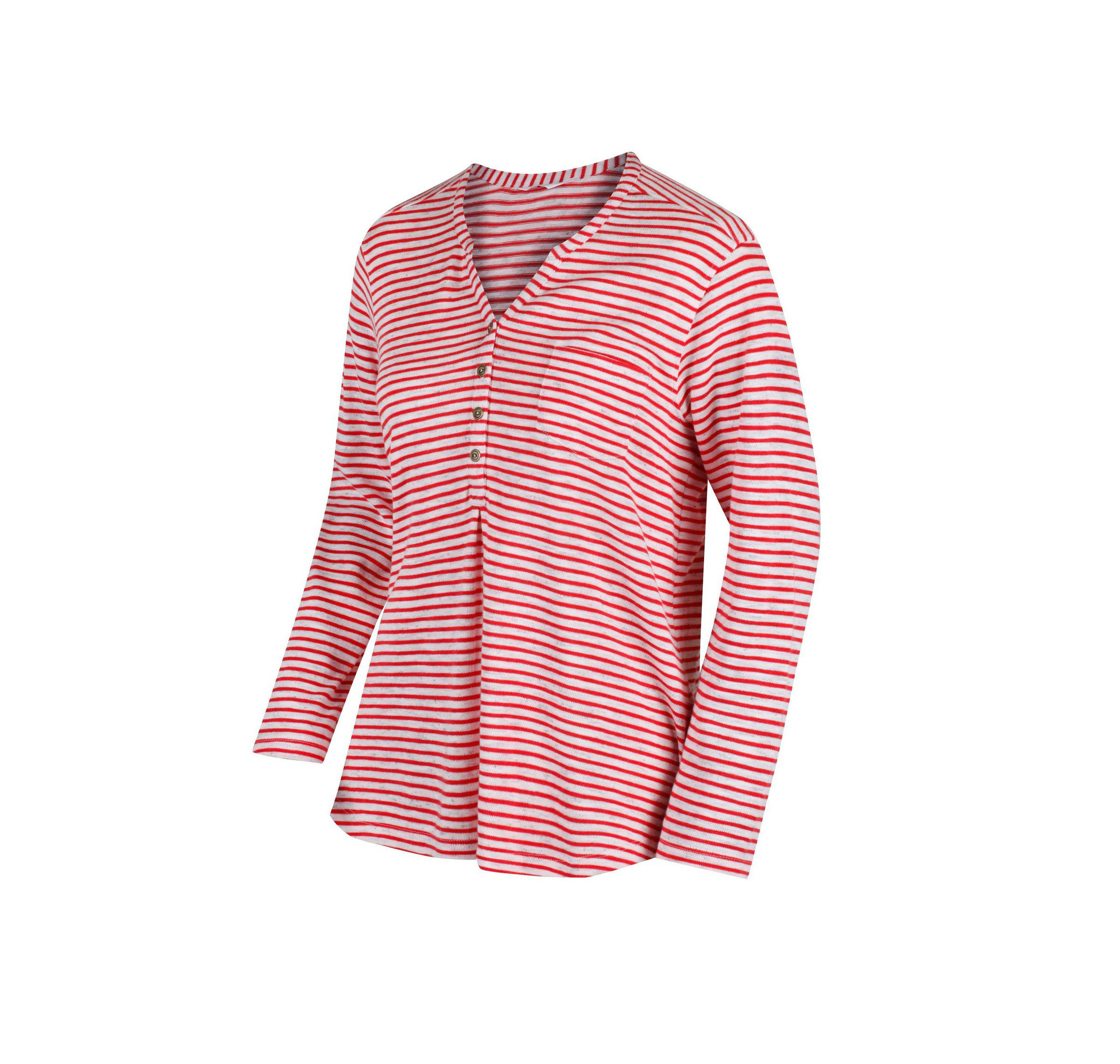 Regatta Women's Franzea Coolweave Cotton T-Shirt - Lollipop