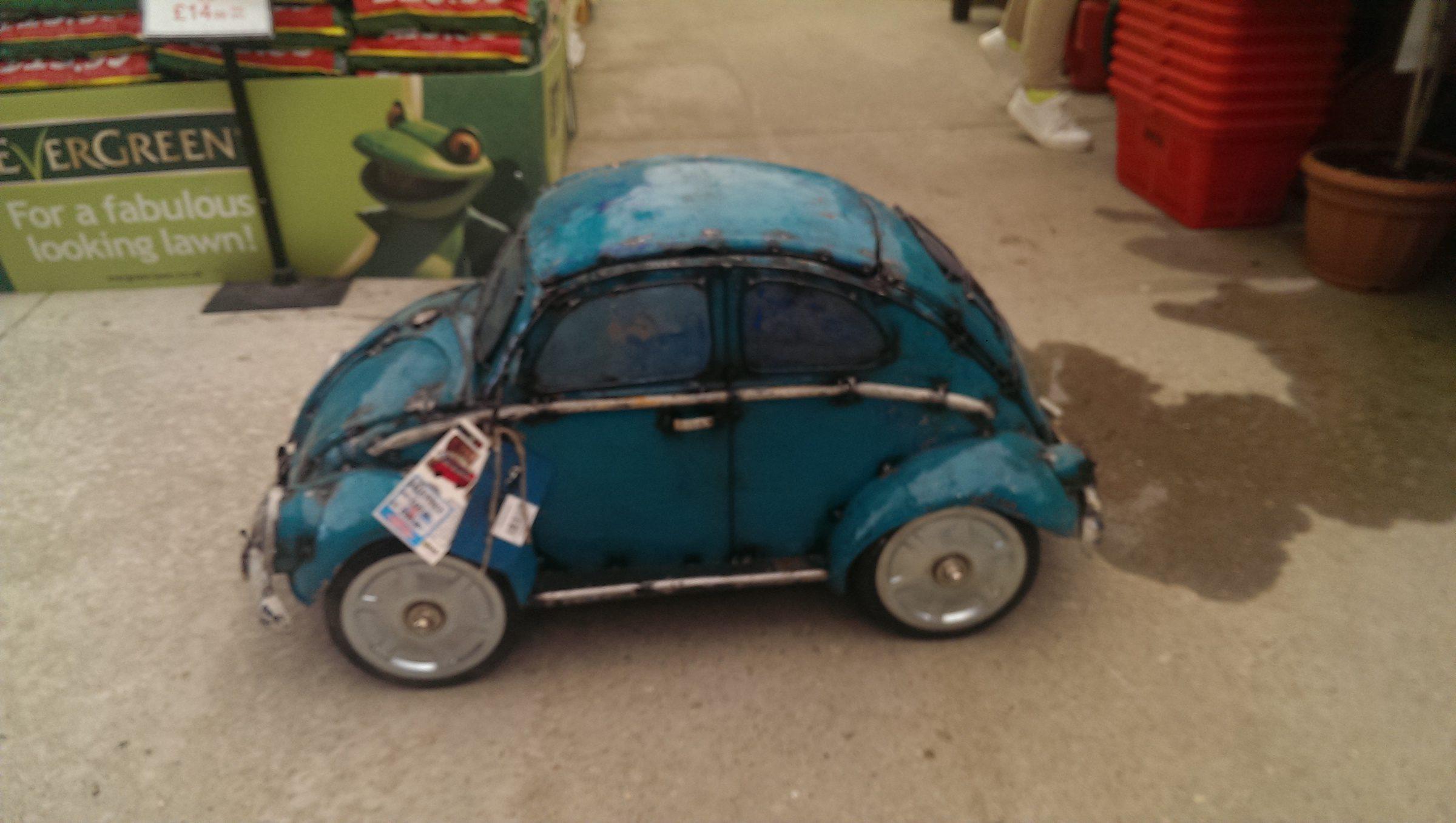 VW Beetle Ice-Box - Aqua