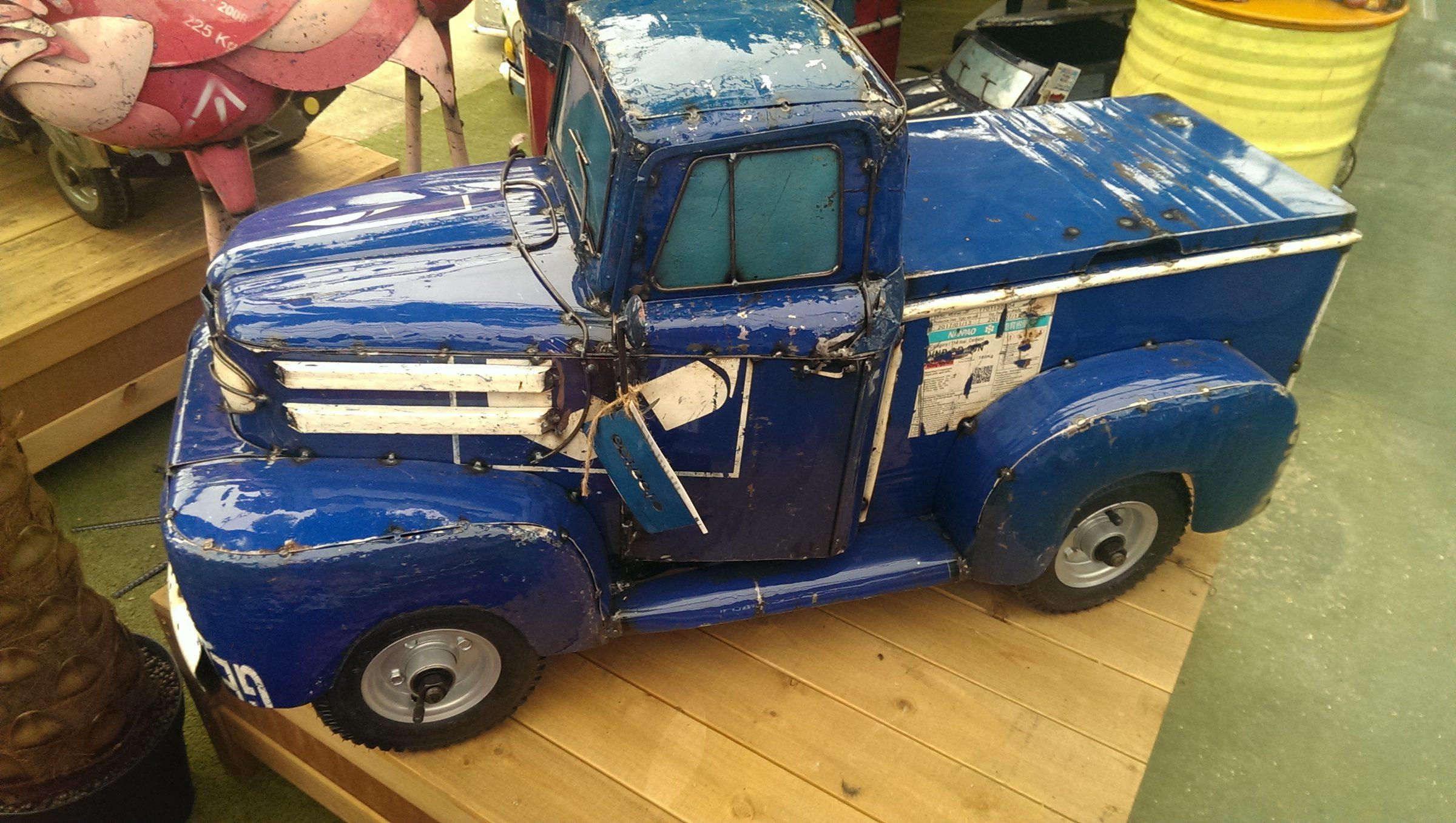 1950s Pick-up Truck Ice-Box - Blue