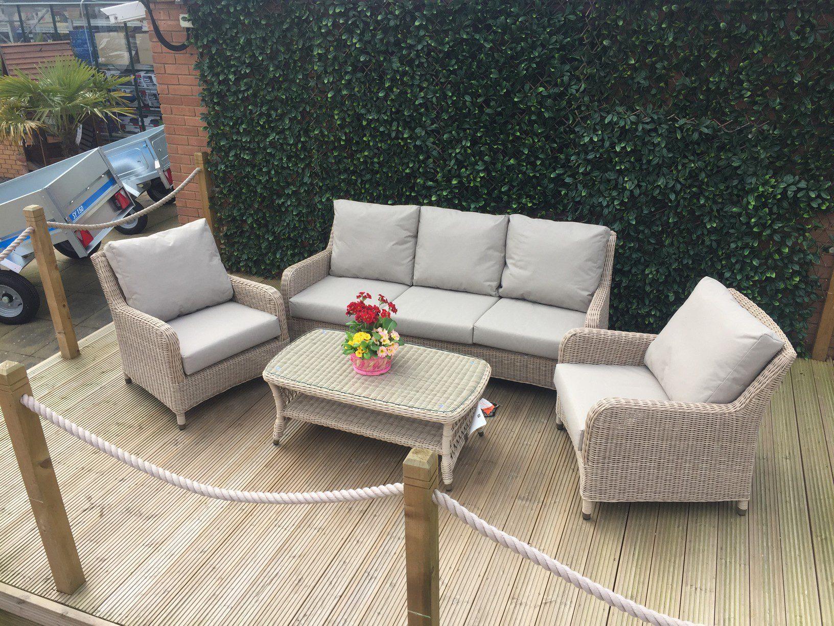 4 Seasons Outdoor Indigo Lounge Set 1