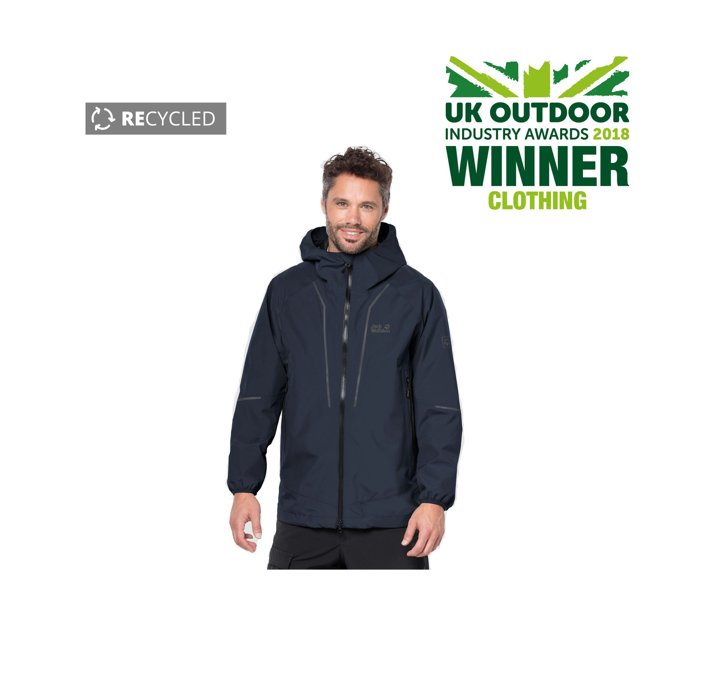 Jack Wolfksin Men's Sierra Trail Jacket - winner
