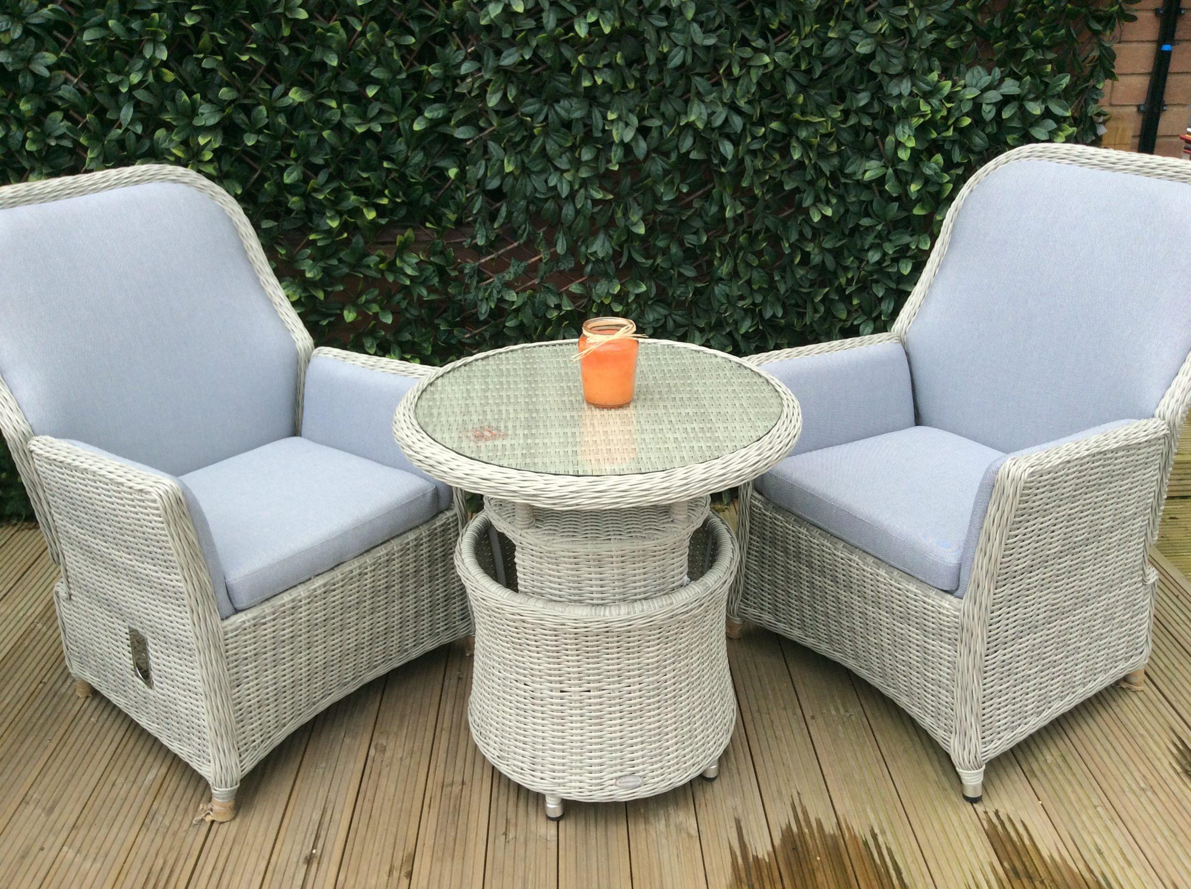 Bramblecrest Gainsborough Bistro Set with Adjustable Table 2018
