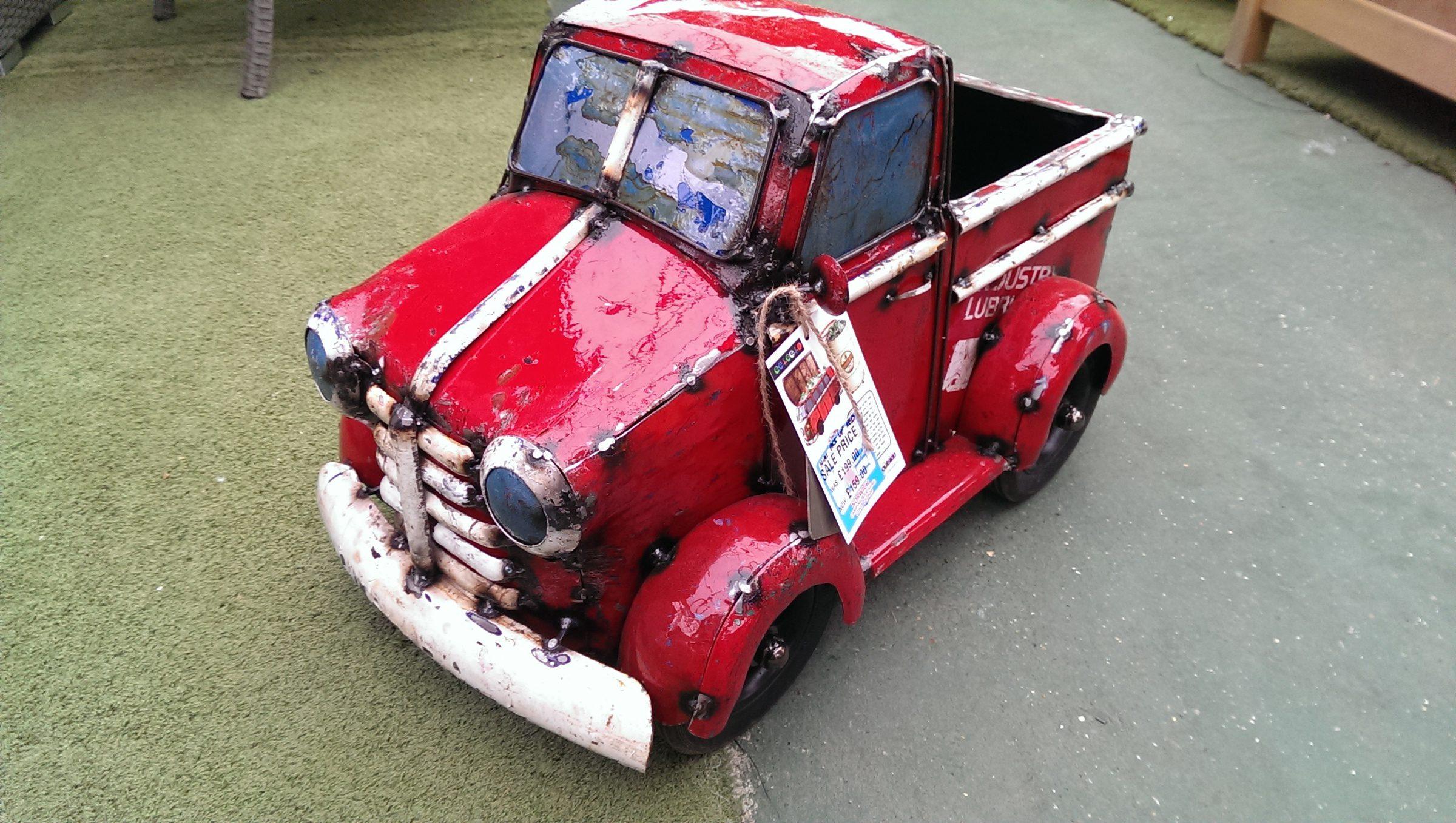 Mini Pick-up Truck - Red