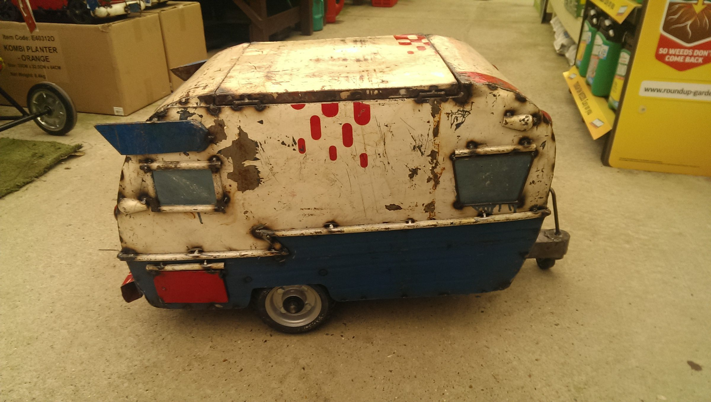 Retro Holiday Van Cooler