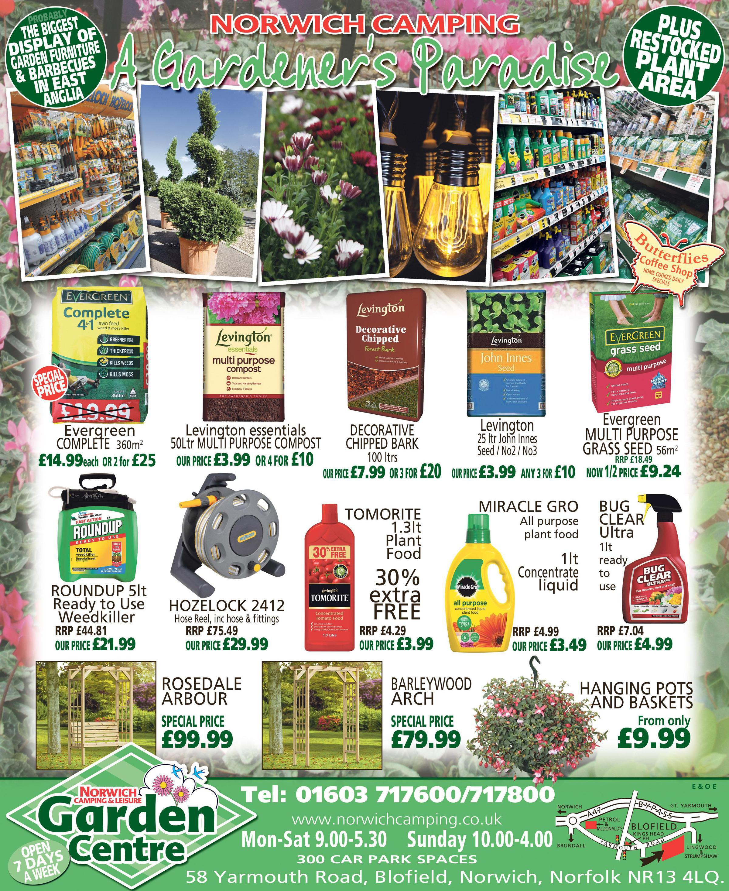 Garden Centre Ad - May 2018