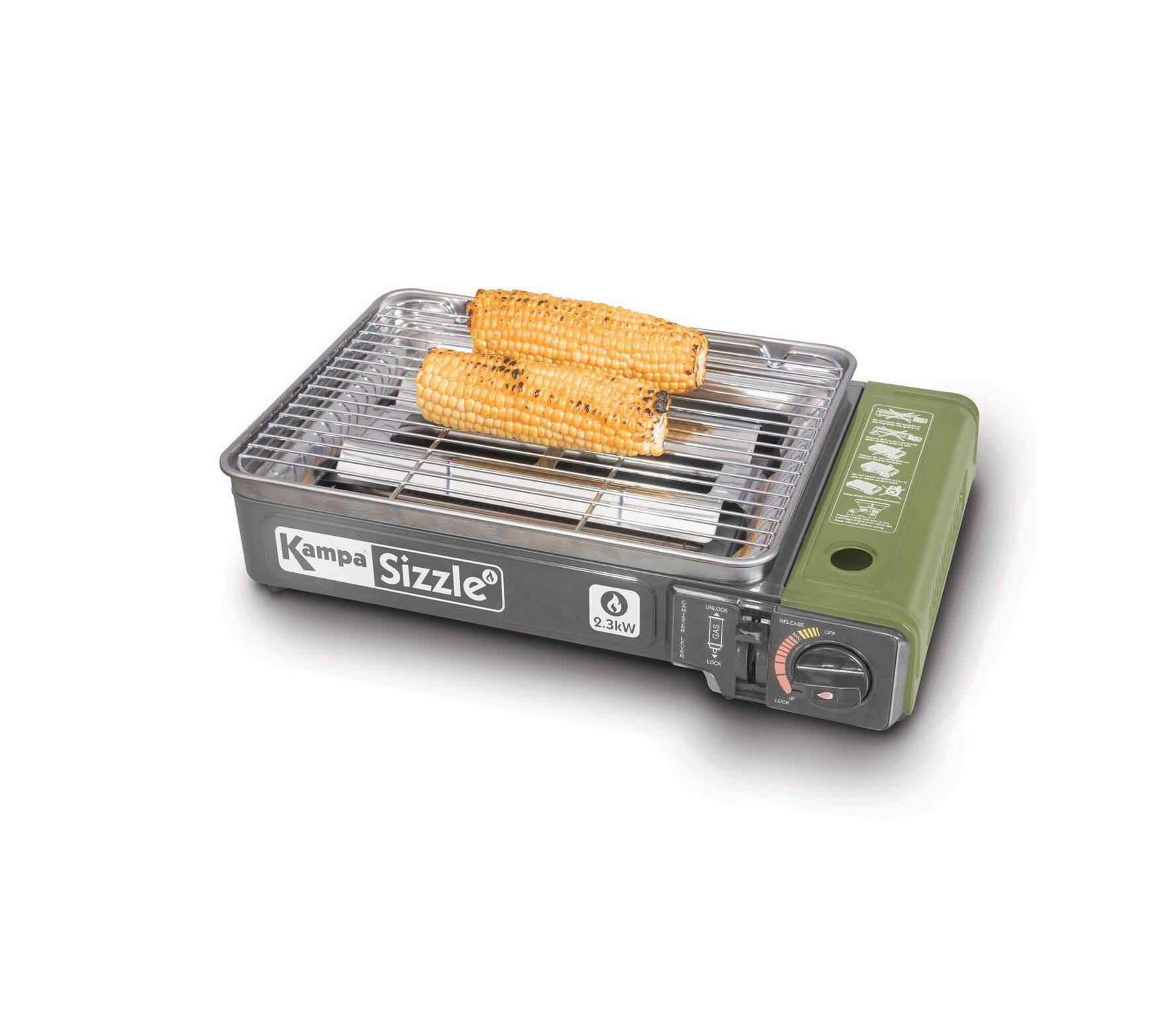 Kampa Sizzle camping stove grey