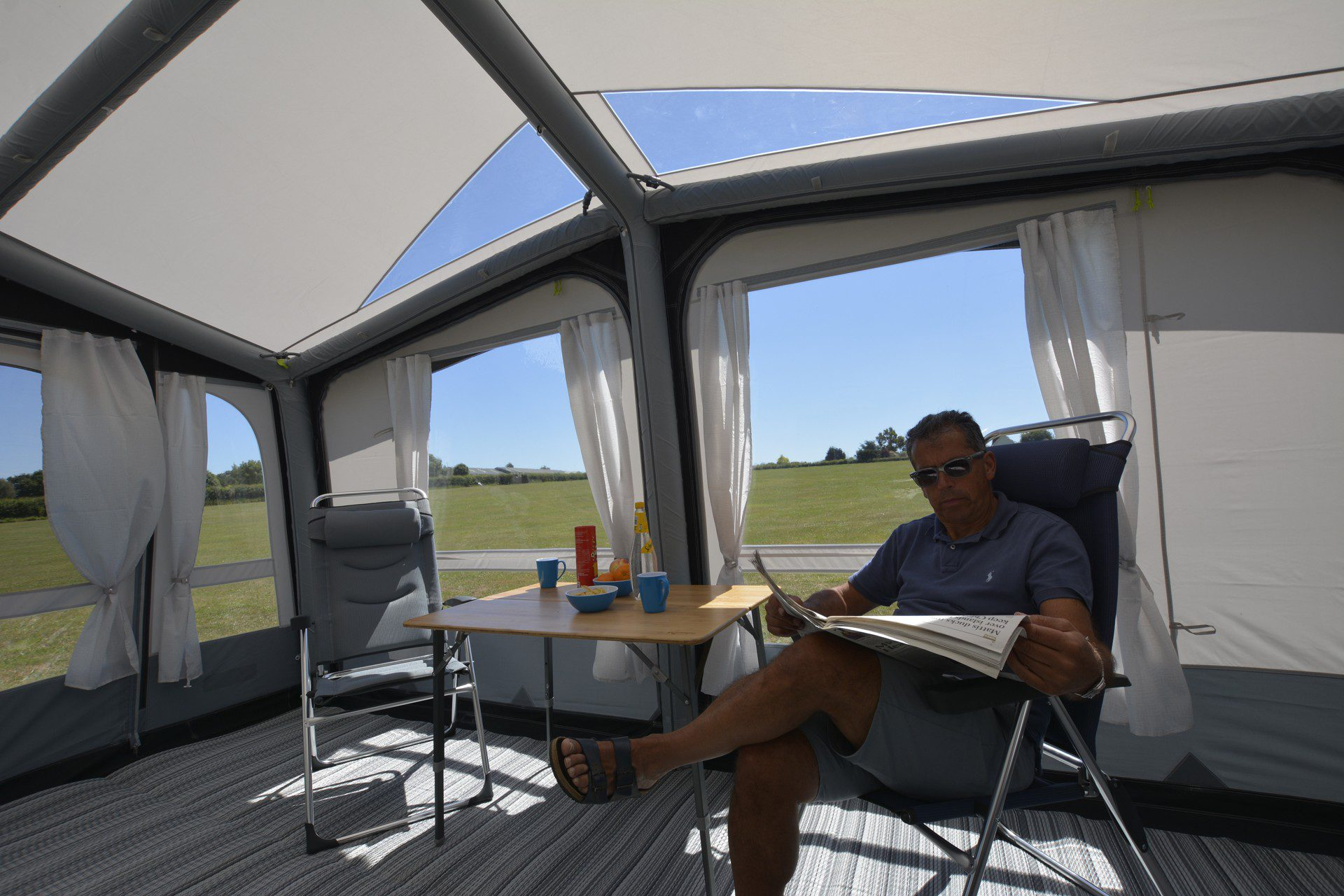 Kampa Club Air Pro 450 Caravan Awning 2019 10