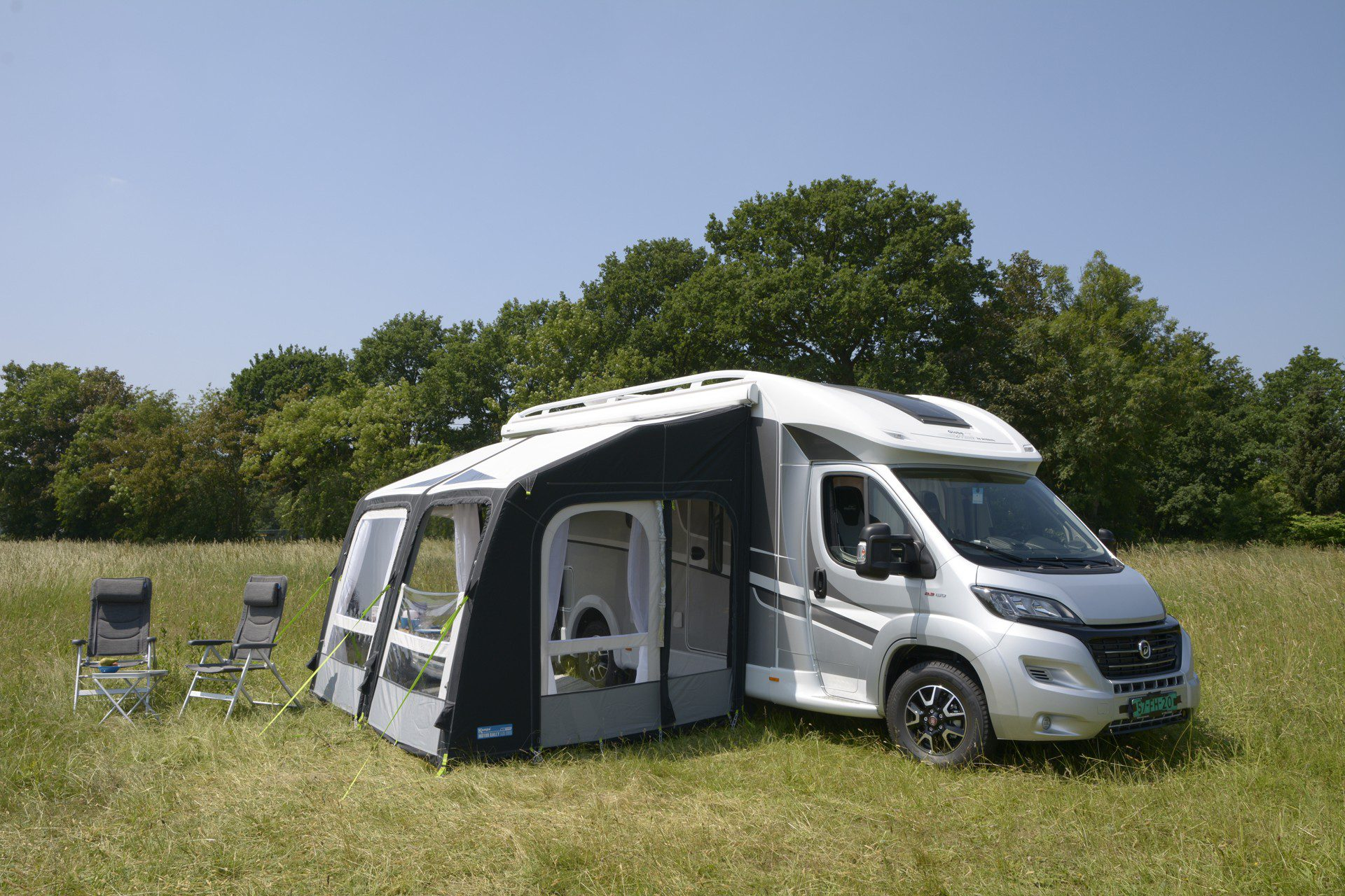 Kampa Motor Rally Air Pro 330 Xl Motor Home Awning 2019
