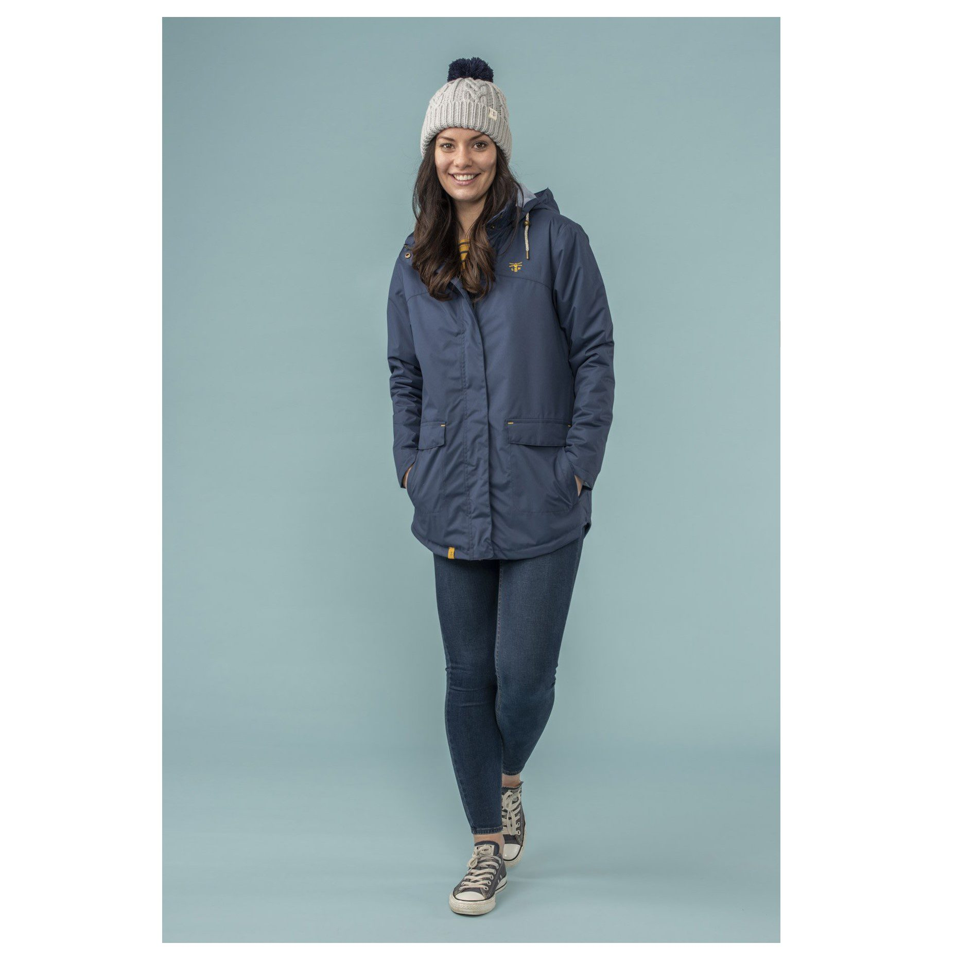 Lightouse Iona Coat - Midnight
