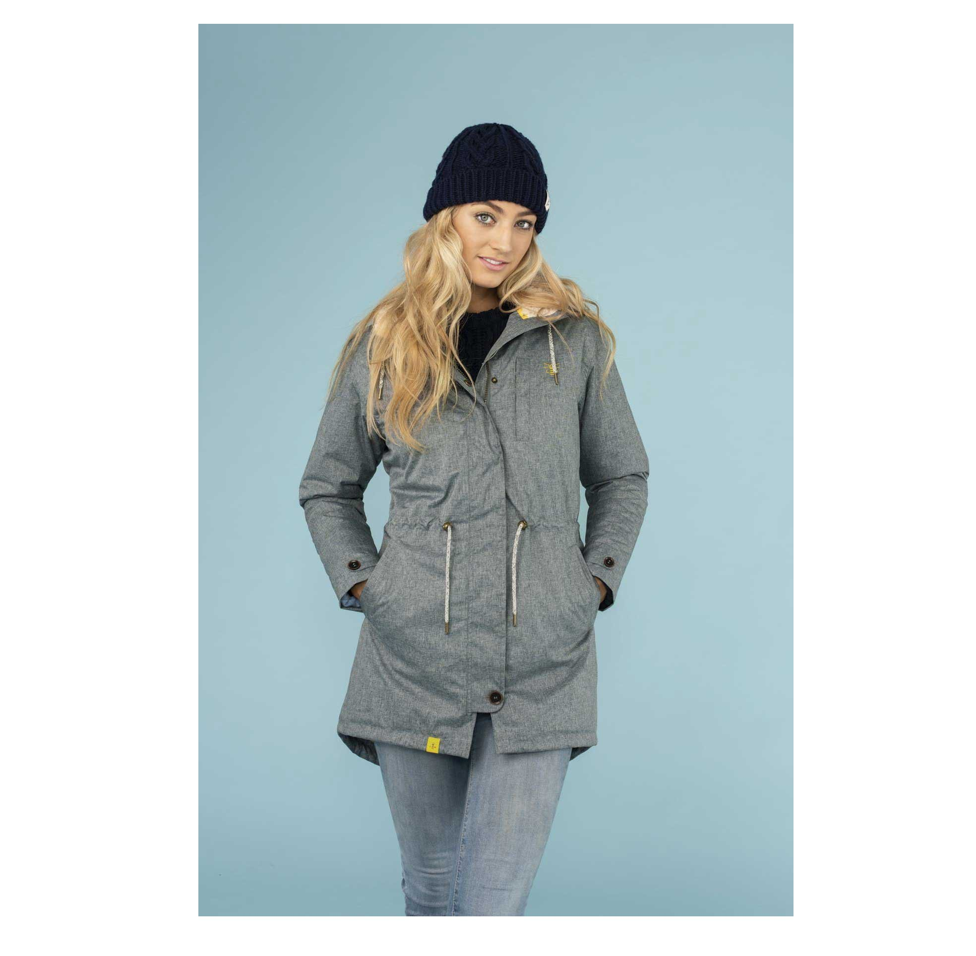 Lighthouse Womens Harper Coat - Urban Grey