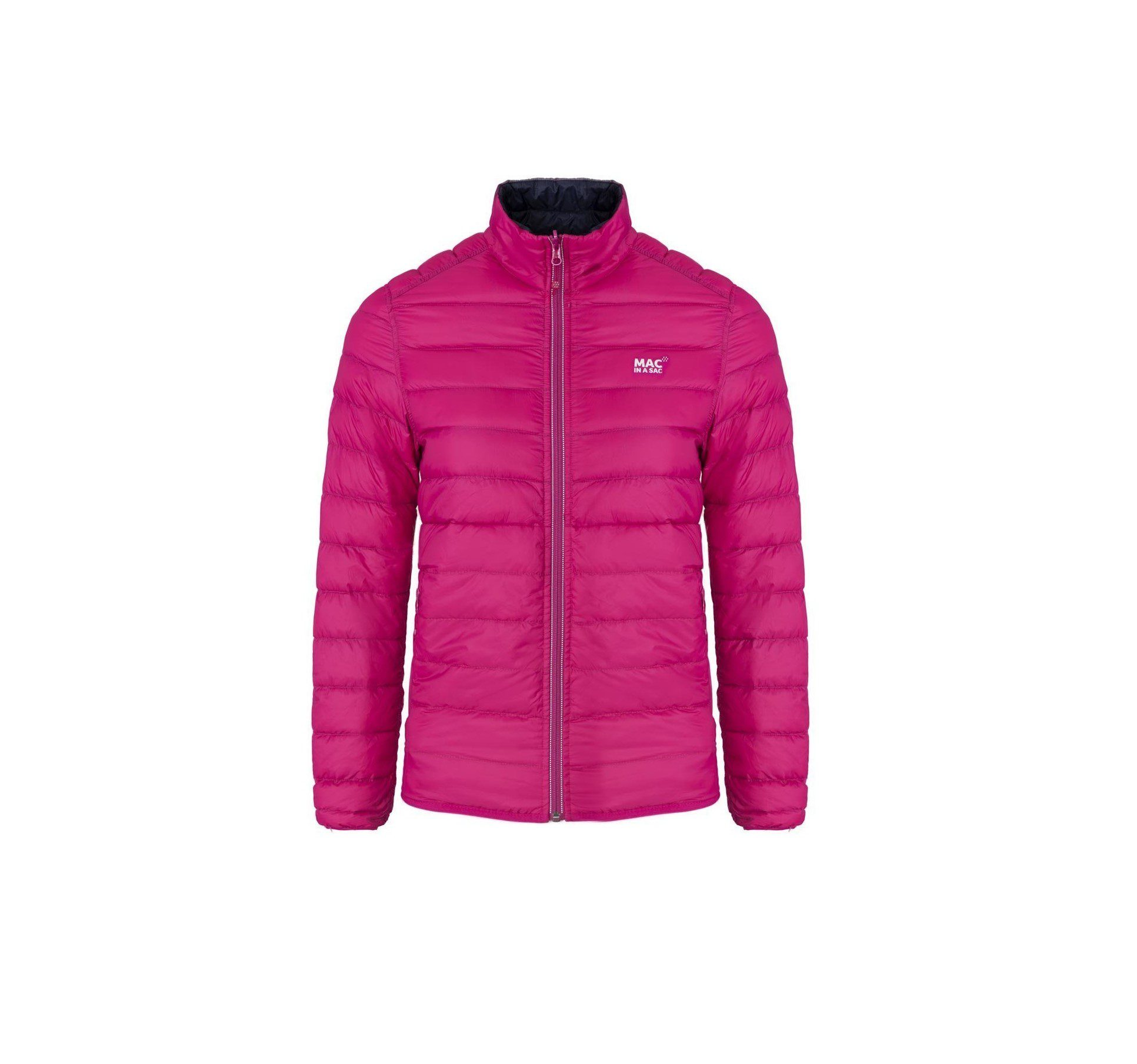 Target Dry Polar Down Jacket - Fuschia-Navy