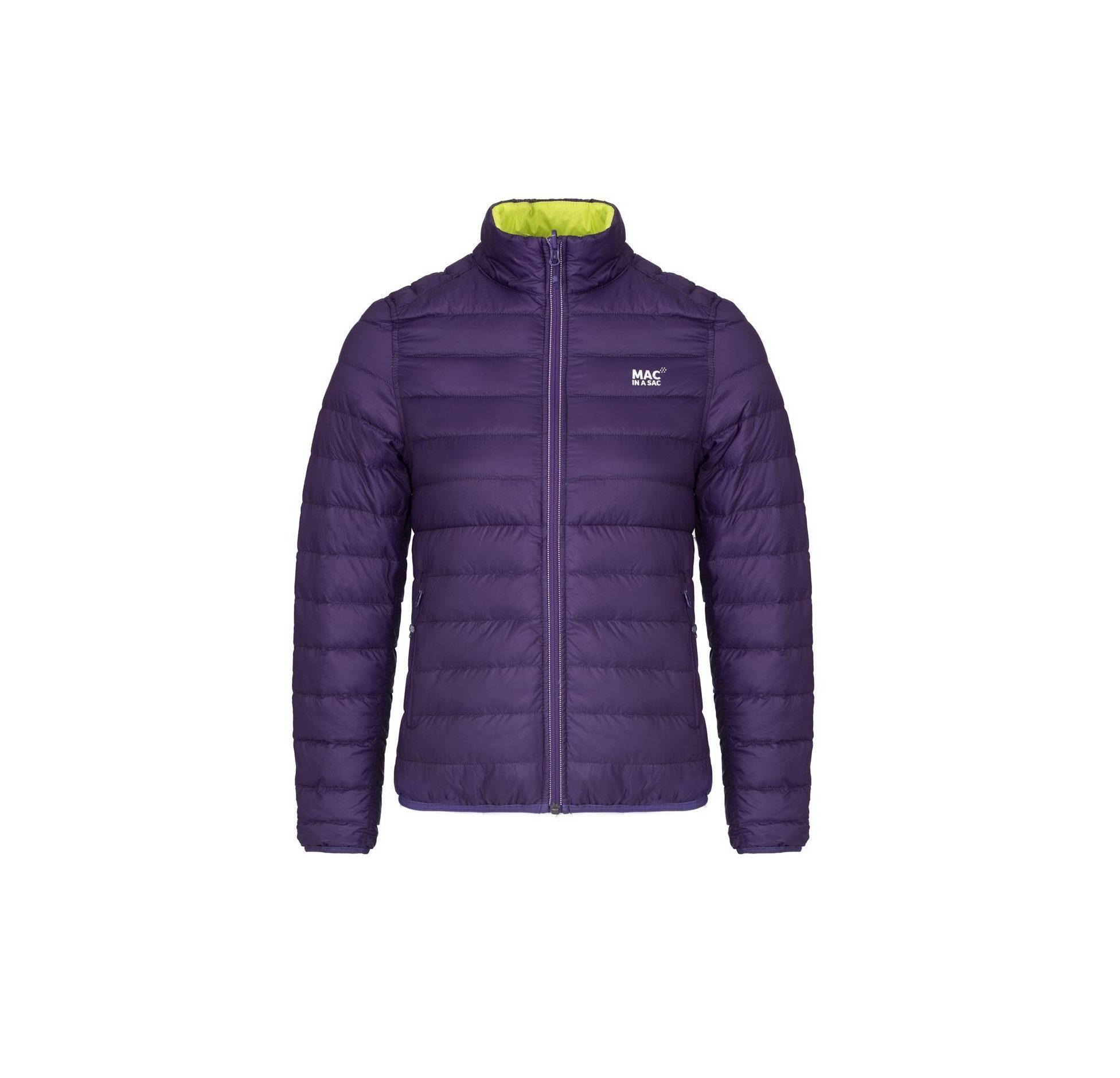 Target Dry Polar Down Jacket - Grape Lime - Punch