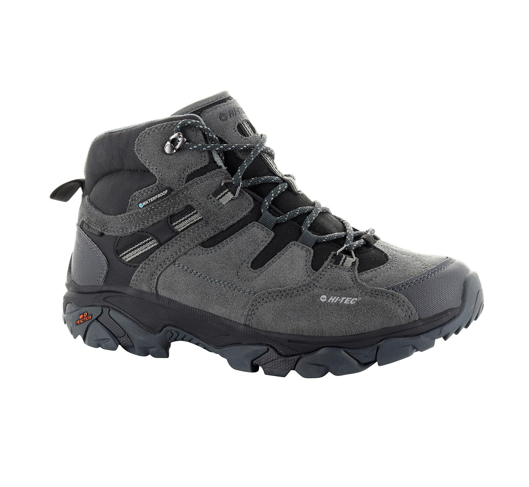 Hi-Tec Ravus Adventure Mens - Charcoal - grey
