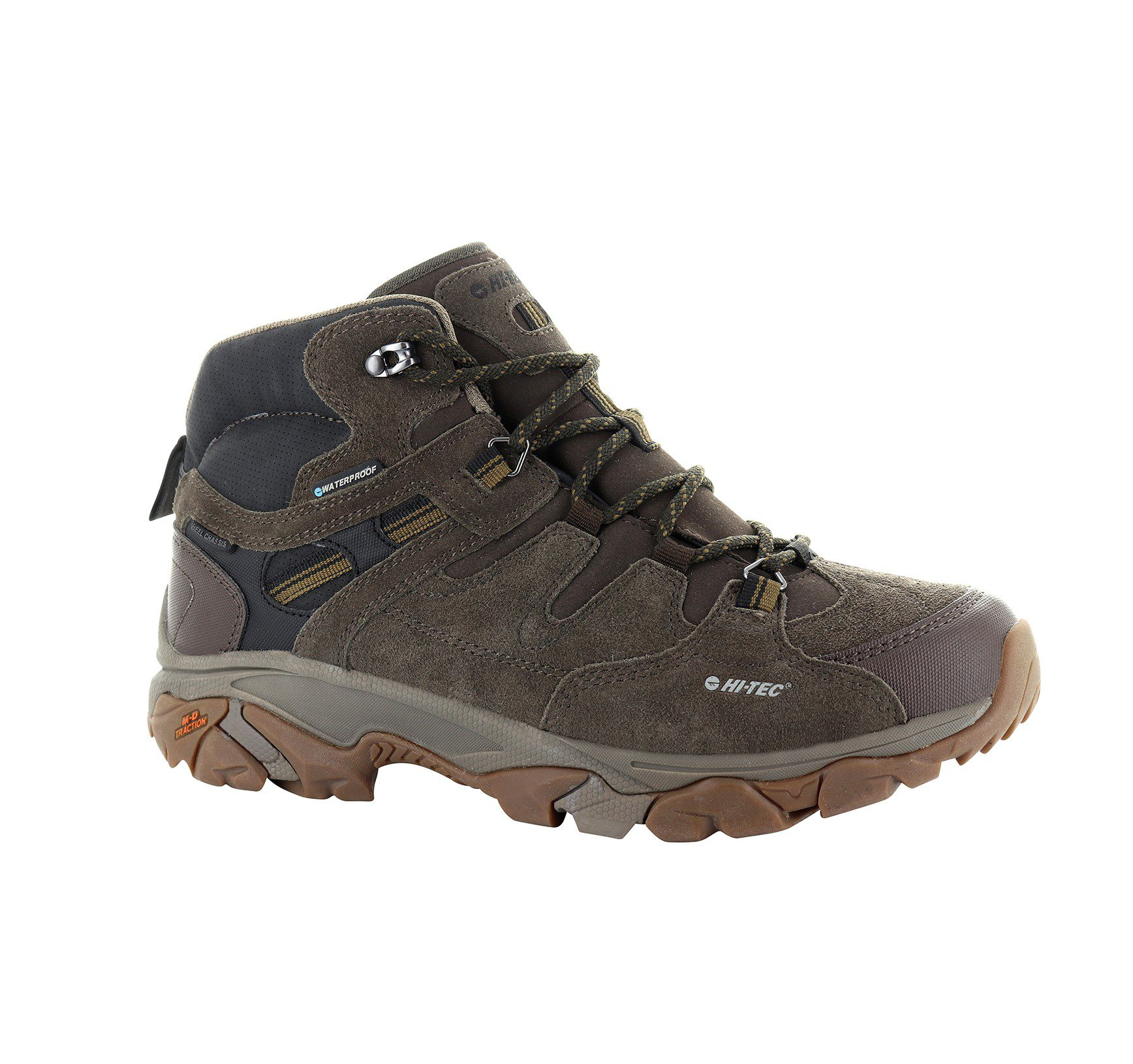 Hi-Tec Ravus Adventure Mens - Chocolate - Tan