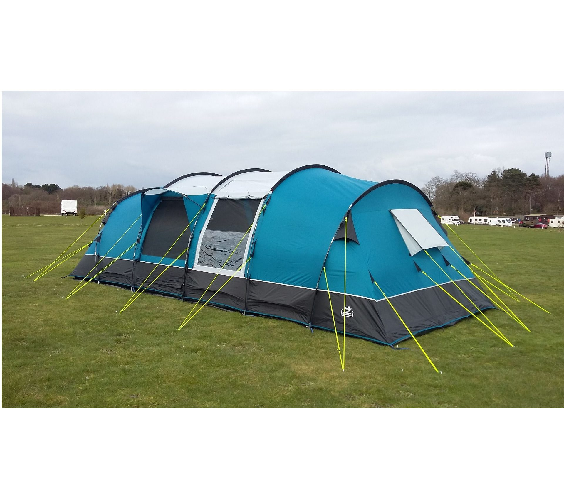 Royal Buckland 8 Poled Tent side